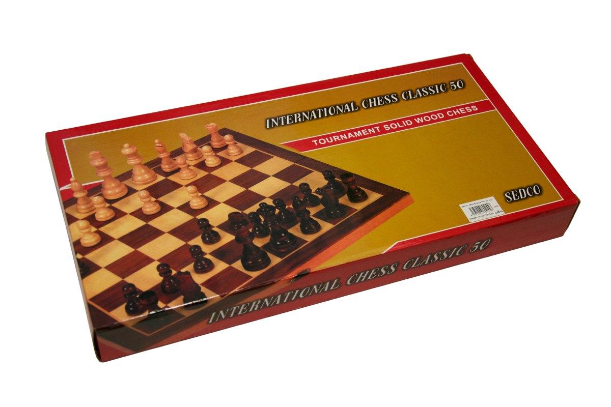 Šachy dřevěné Extra