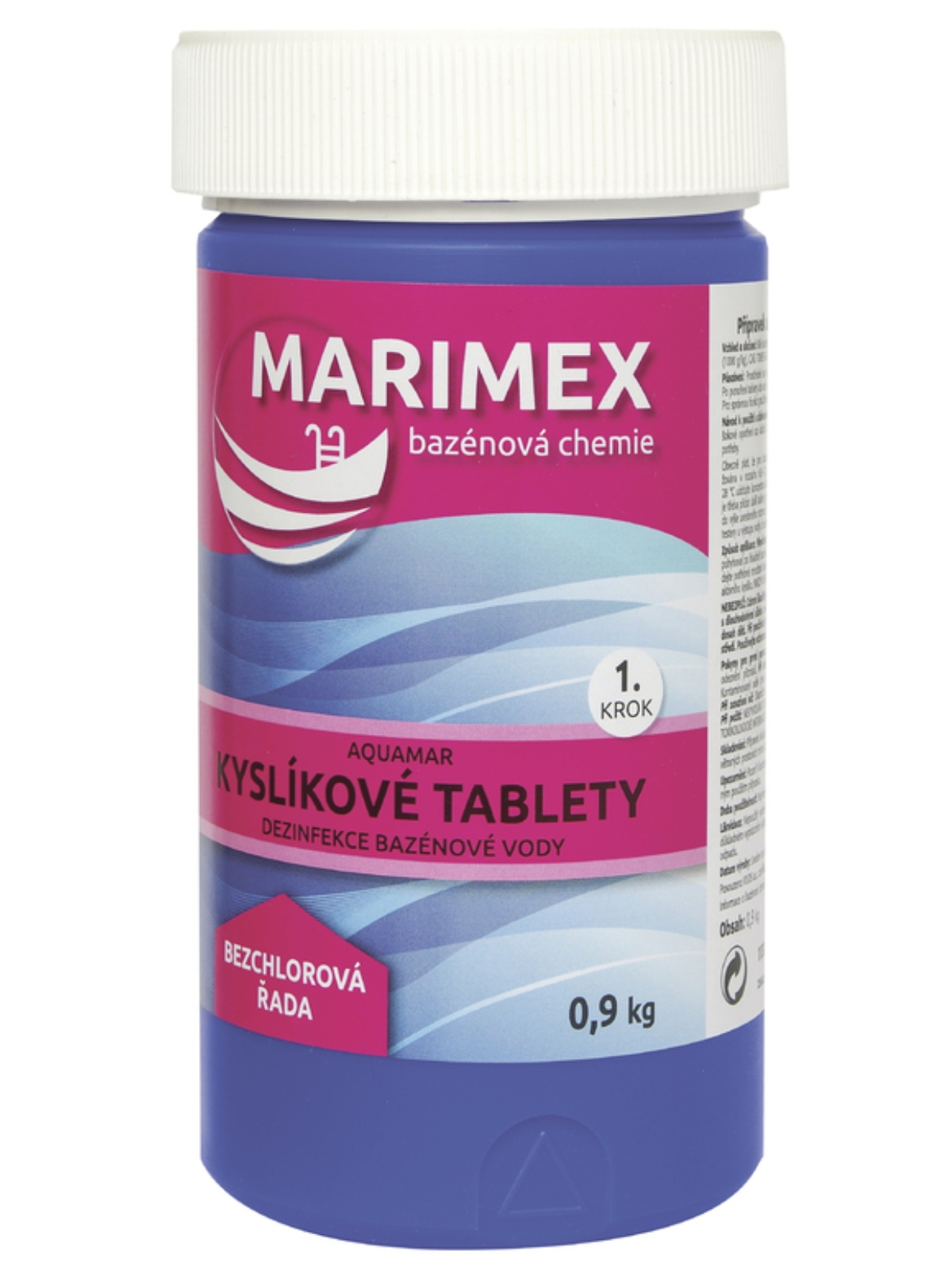 MARIMEX Aquamar Kyslíkové tablety 900g
