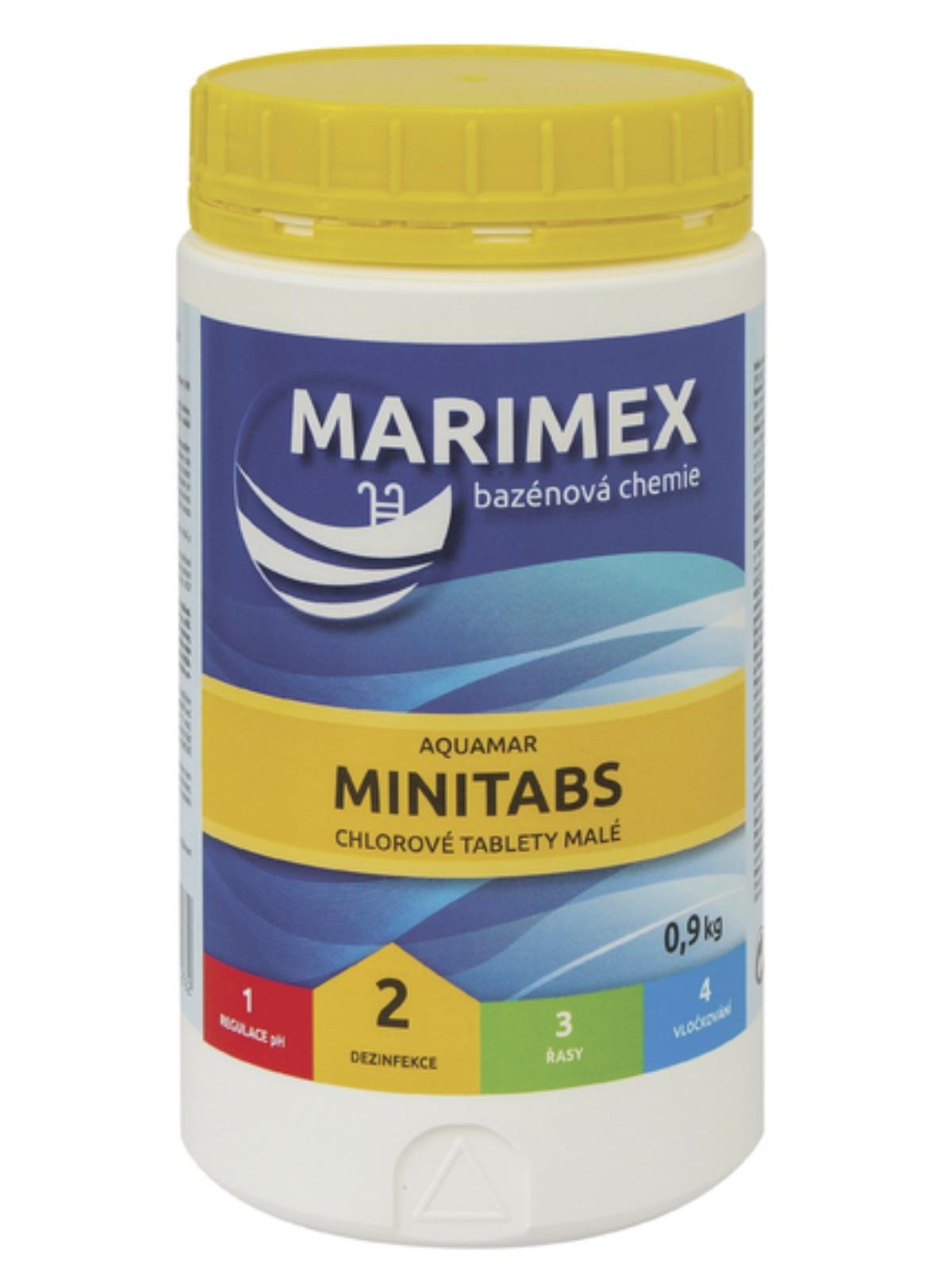 MARIMEX 11301103 Aquamar Minitablety 900g
