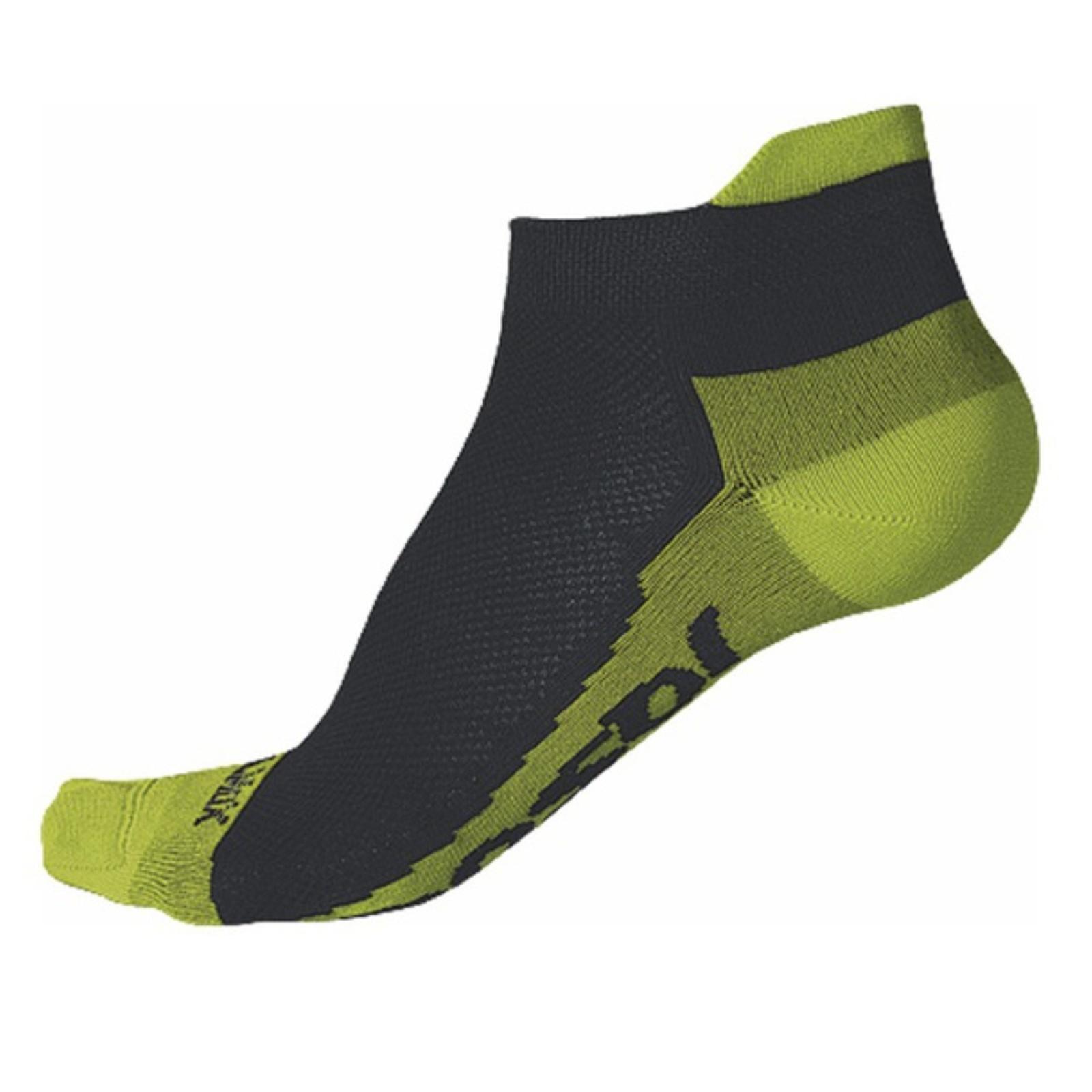Ponožky SENSOR Coolmax Invisible limetka - vel. 3-5