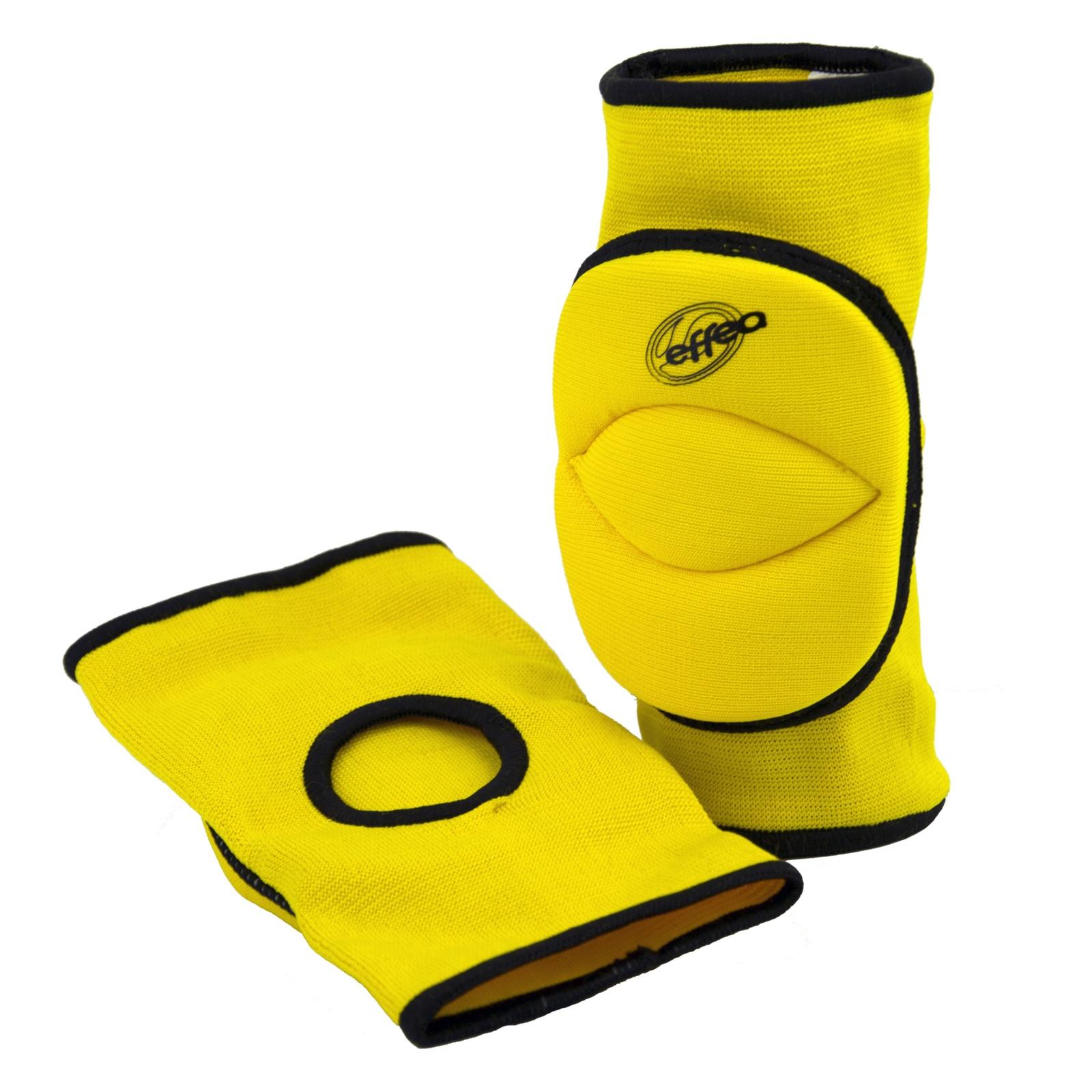 Volejbalové chrániče kolen EFFEA 6644 junior žluté