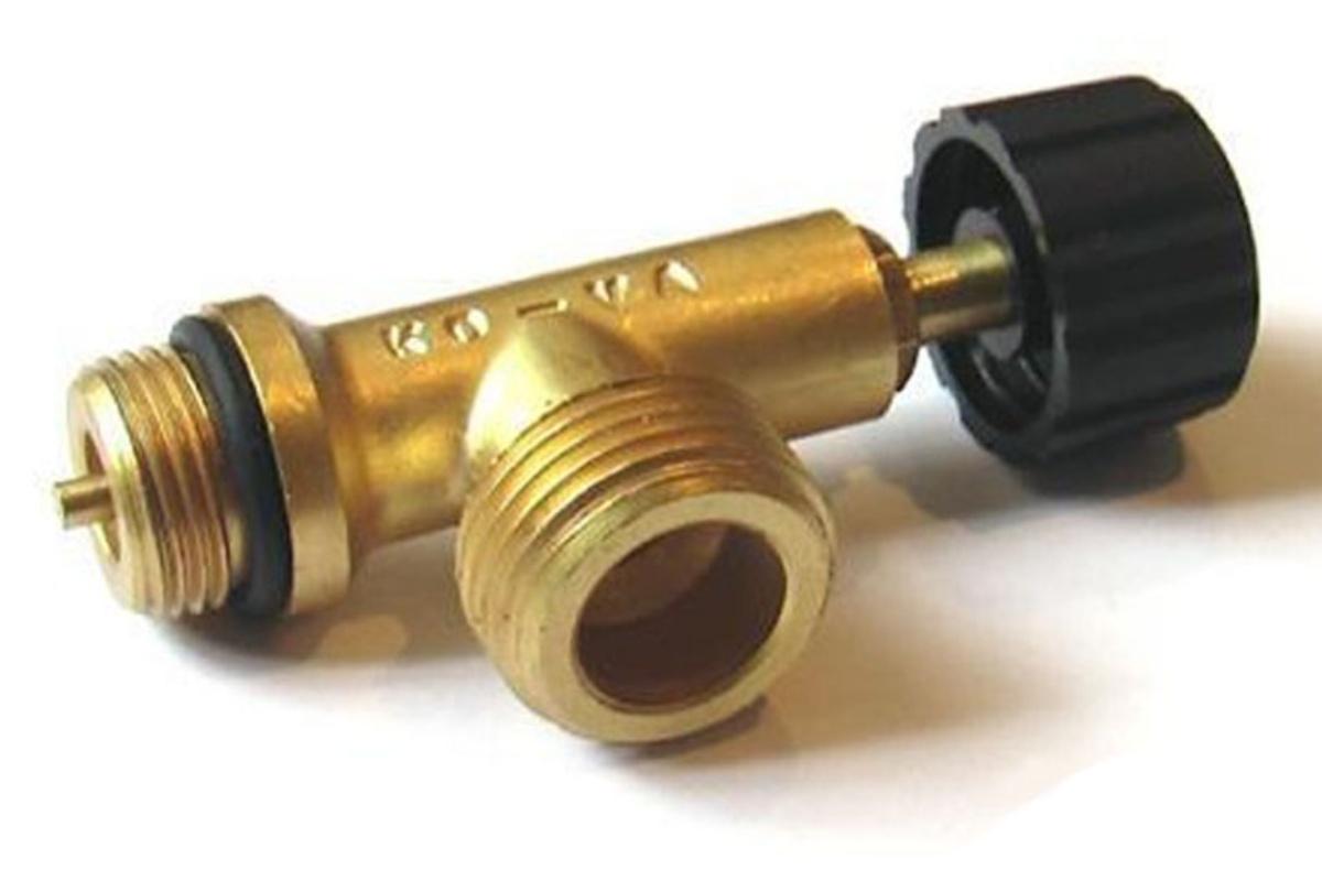Sada na připojení CADAC - odtlačný plynový ventil