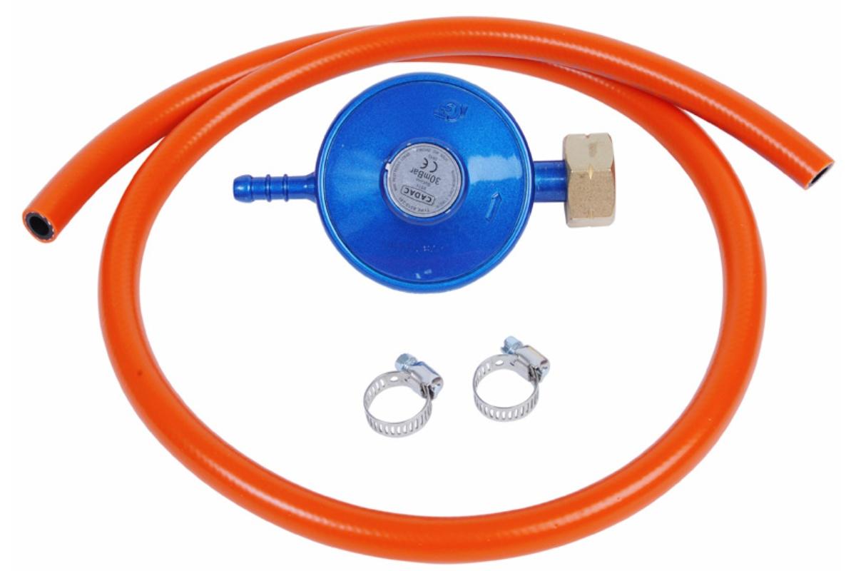 Sada na připojení CADAC - regulátor tlaku plynu