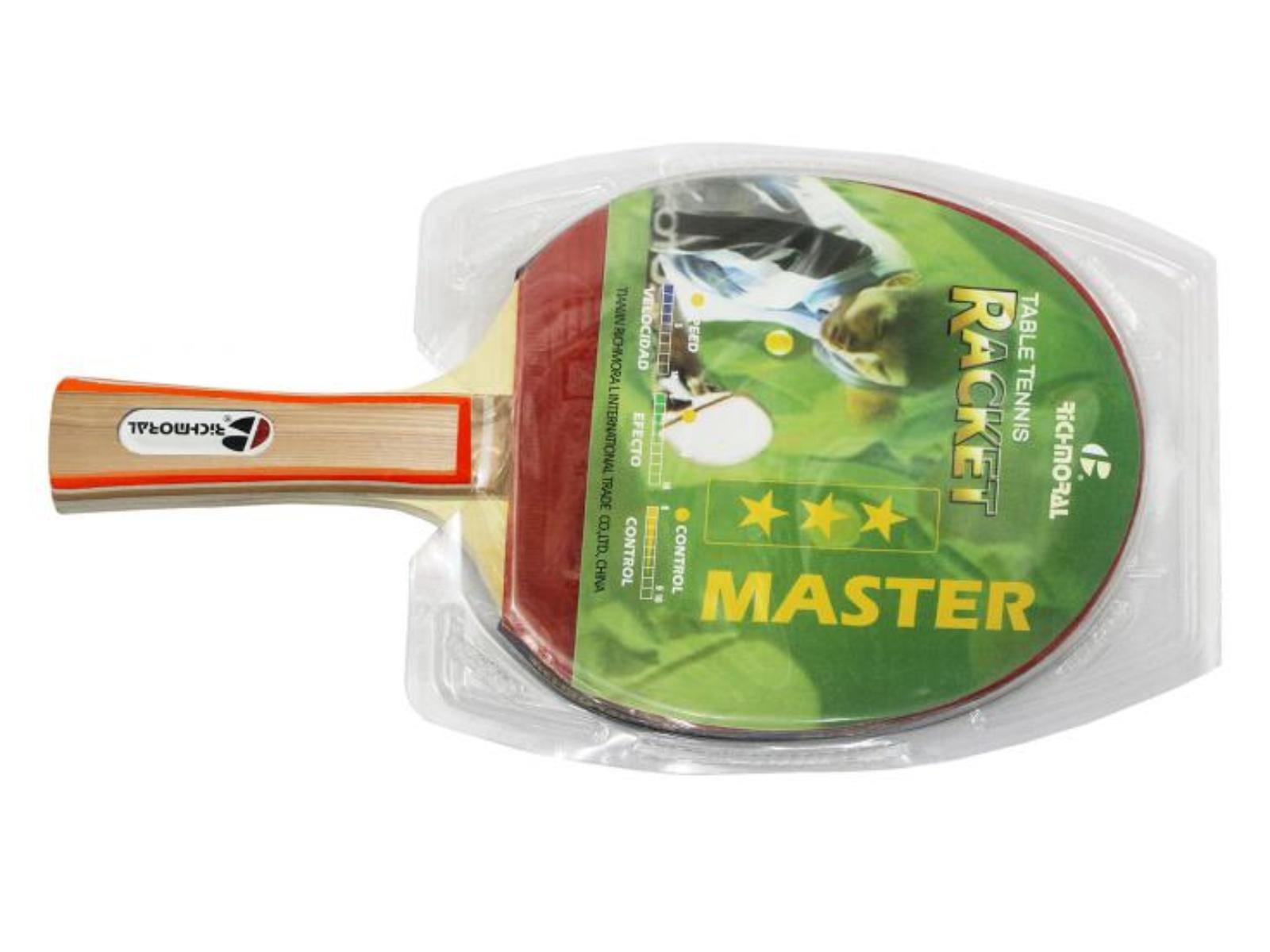 Pálka na stolní tenis RICHMORAL Master *** XT09