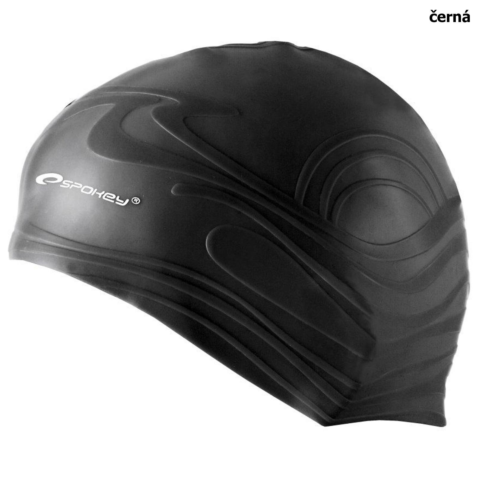 Plavecká čepice SPOKEY Shoal - černá