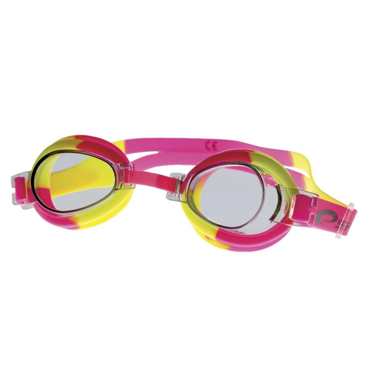 Plavecké brýle SPOKEY Jellyfish - růžovo-žluté