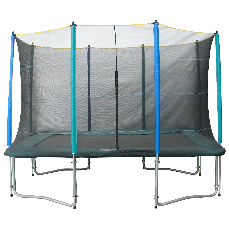 SET trampolína MASTERJUMP 300 x 210 cm + ochranná síť + schůdky