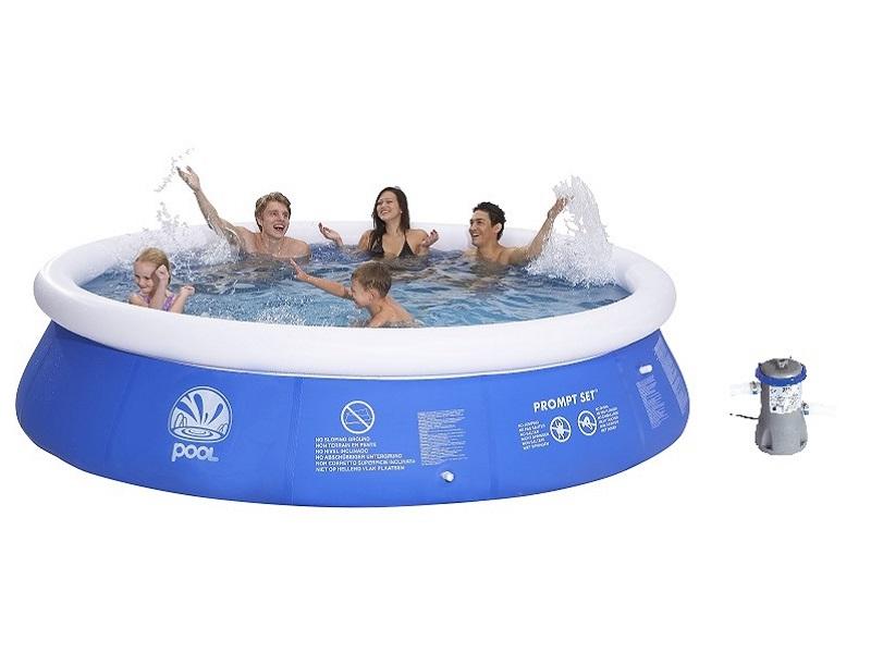 Bazén Prompt Pool 360 x 90 cm set s kartušovou filtrací