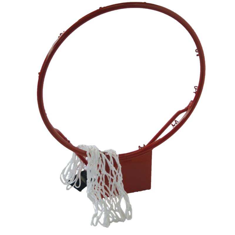 Basketbalová obroučka SPARTAN 16 mm se síťkou