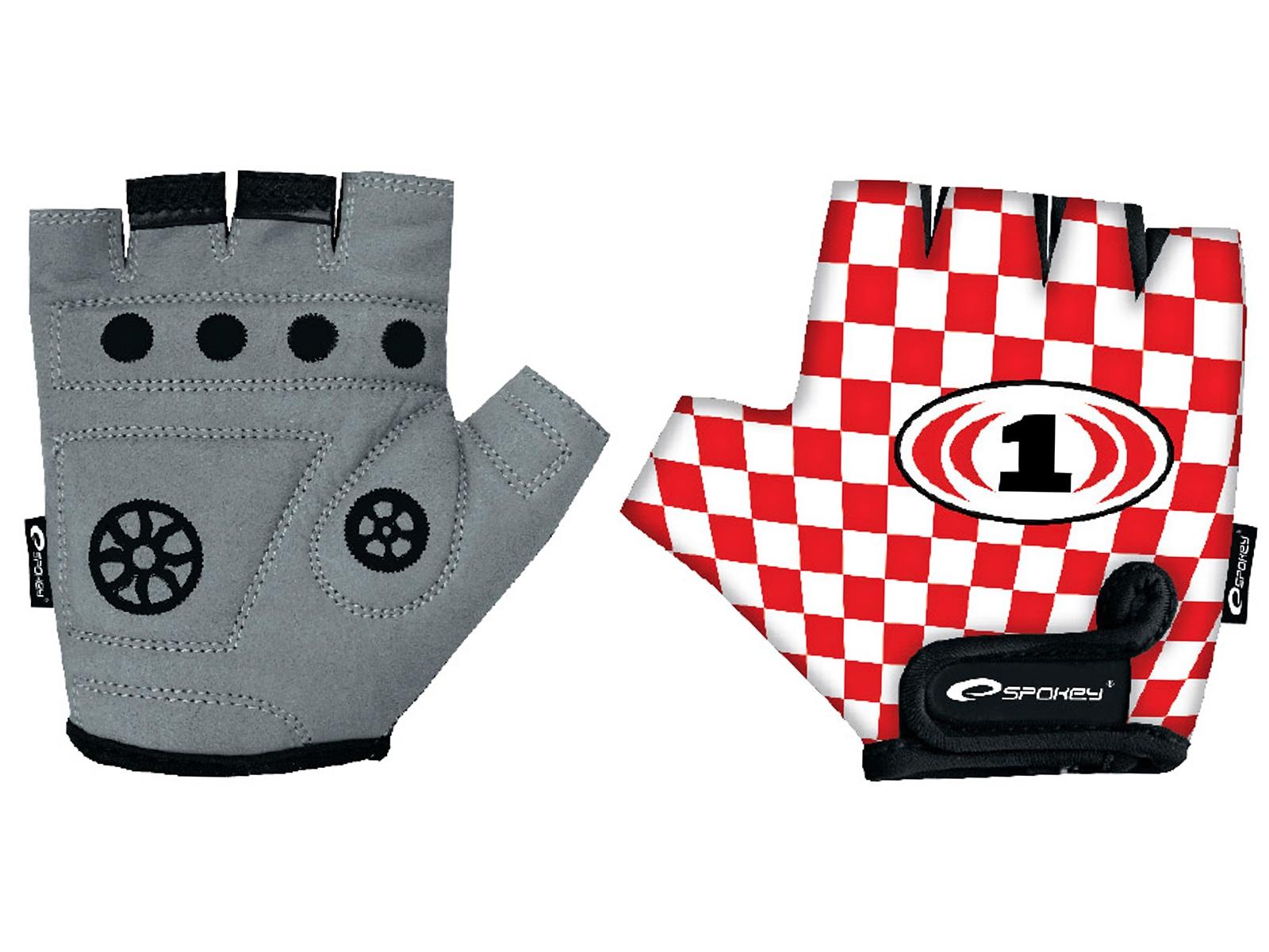 Cyklo rukavice SPOKEY Race Glove dětské - S
