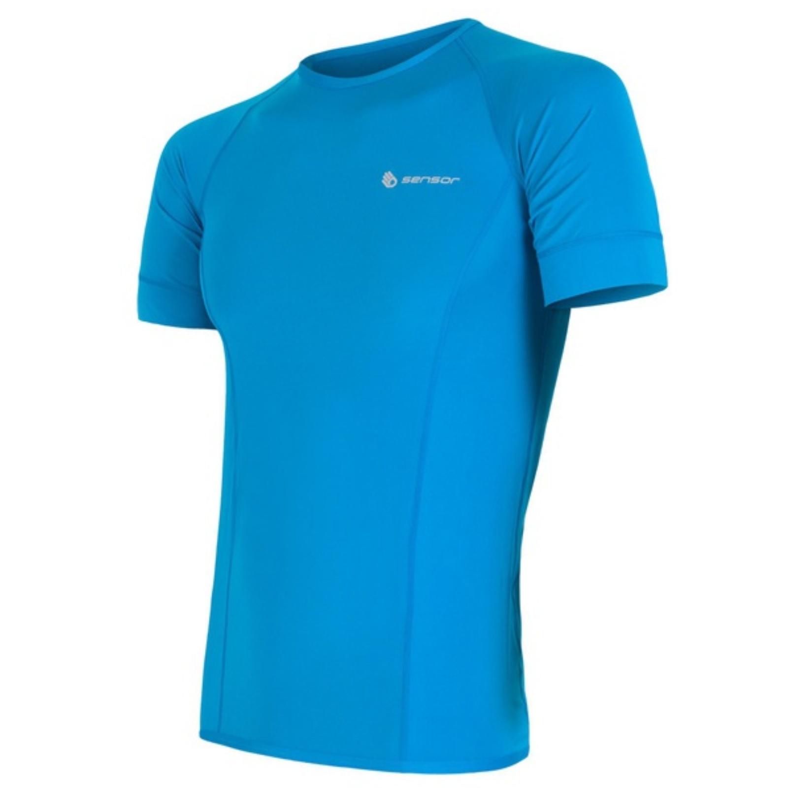 Triko krátký rukáv SENSOR Coolmax Fresh pánské modré