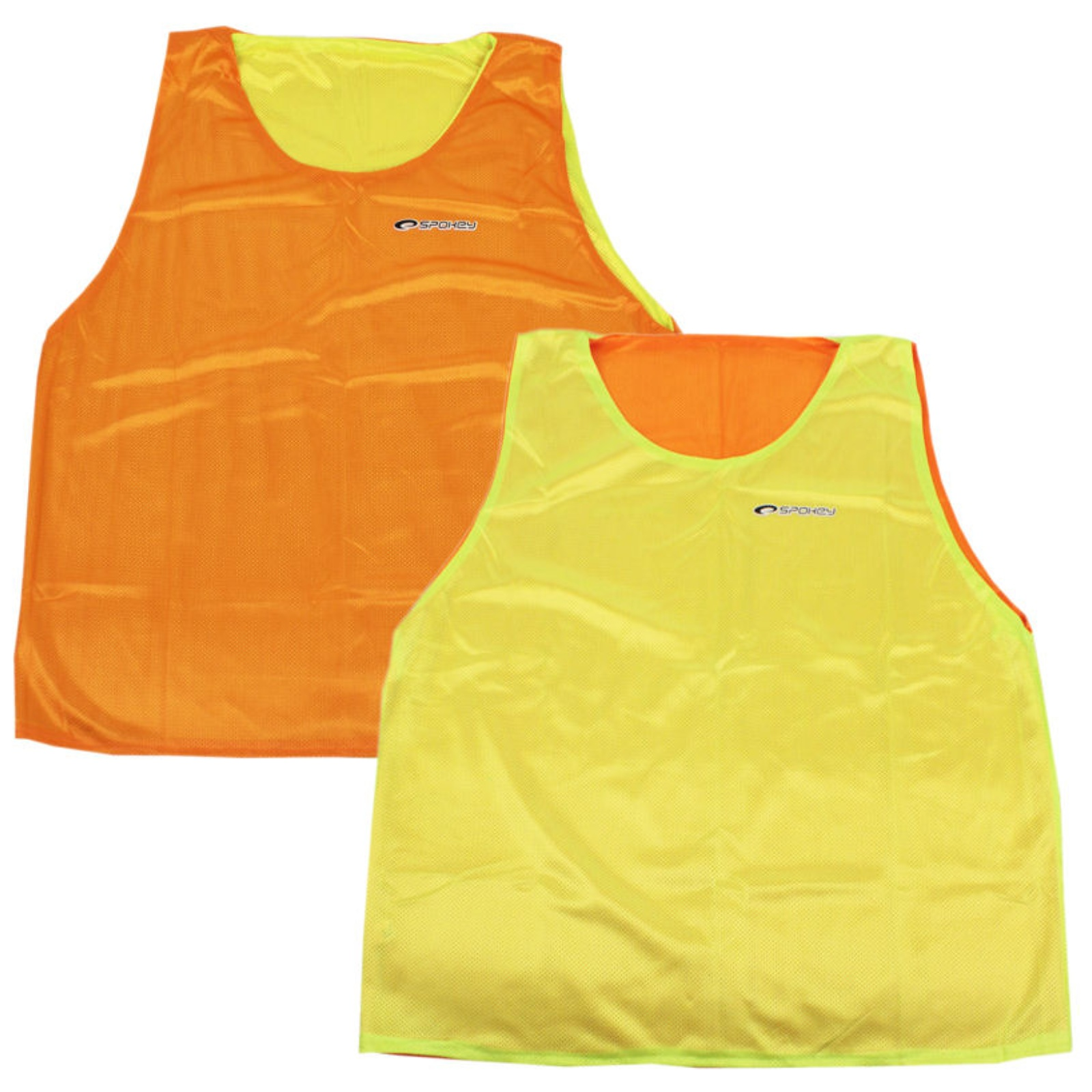 Rozlišovací vesta SPOKEY Shiny - oboustranná - XL