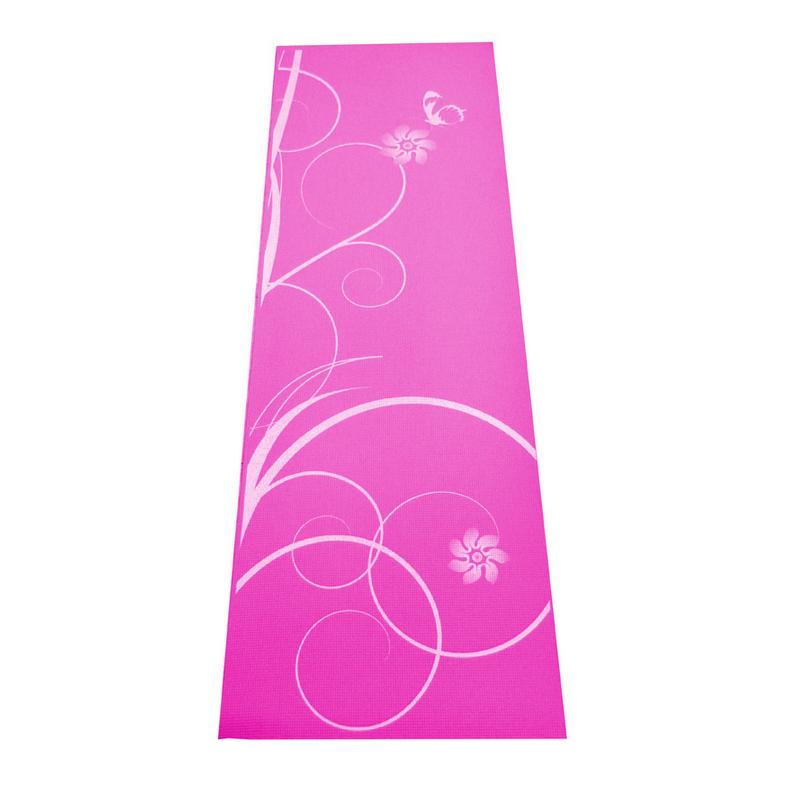 Gymnastická podložka SPARTAN Yoga Matte 0,4 - růžová