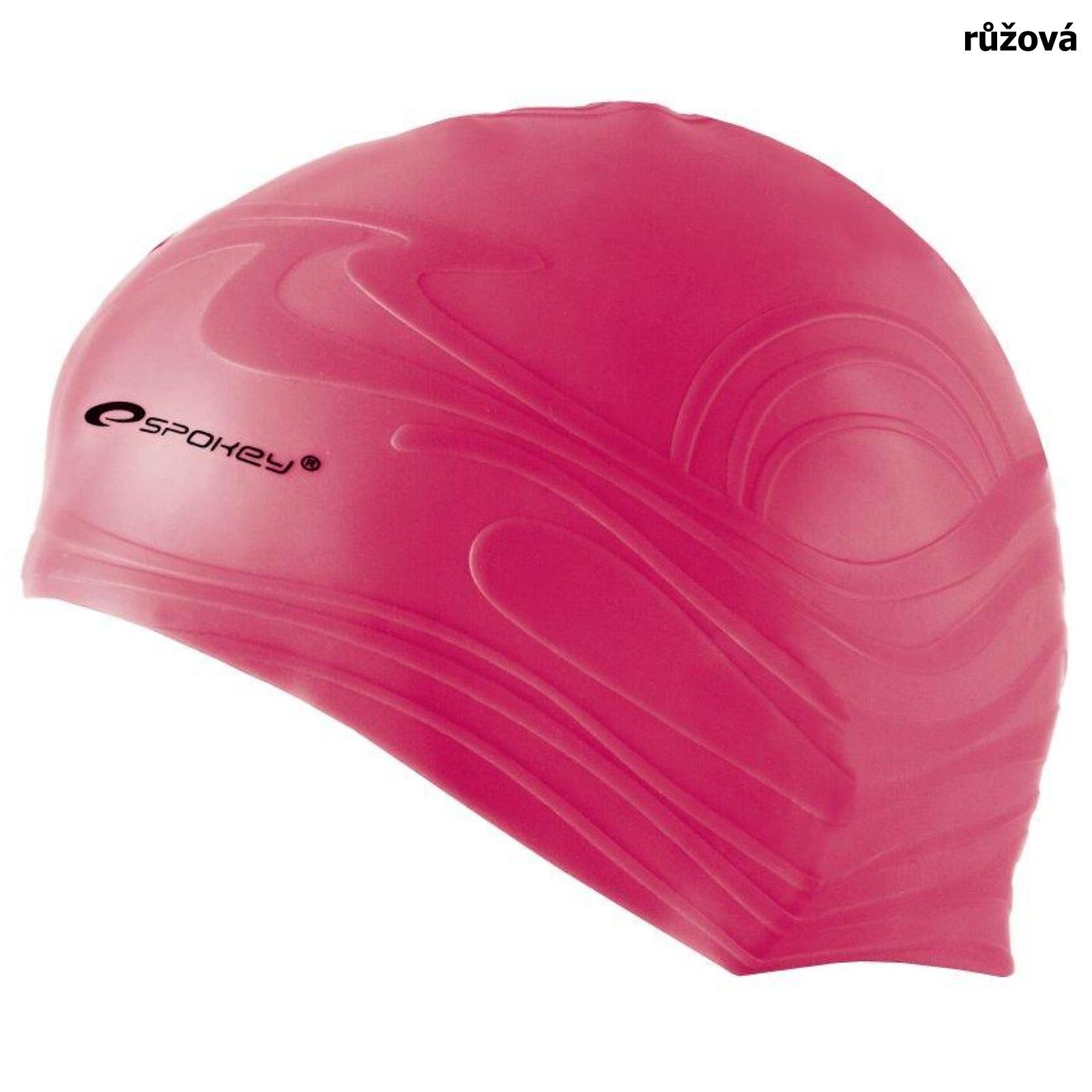 Plavecká čepice SPOKEY Shoal - růžová