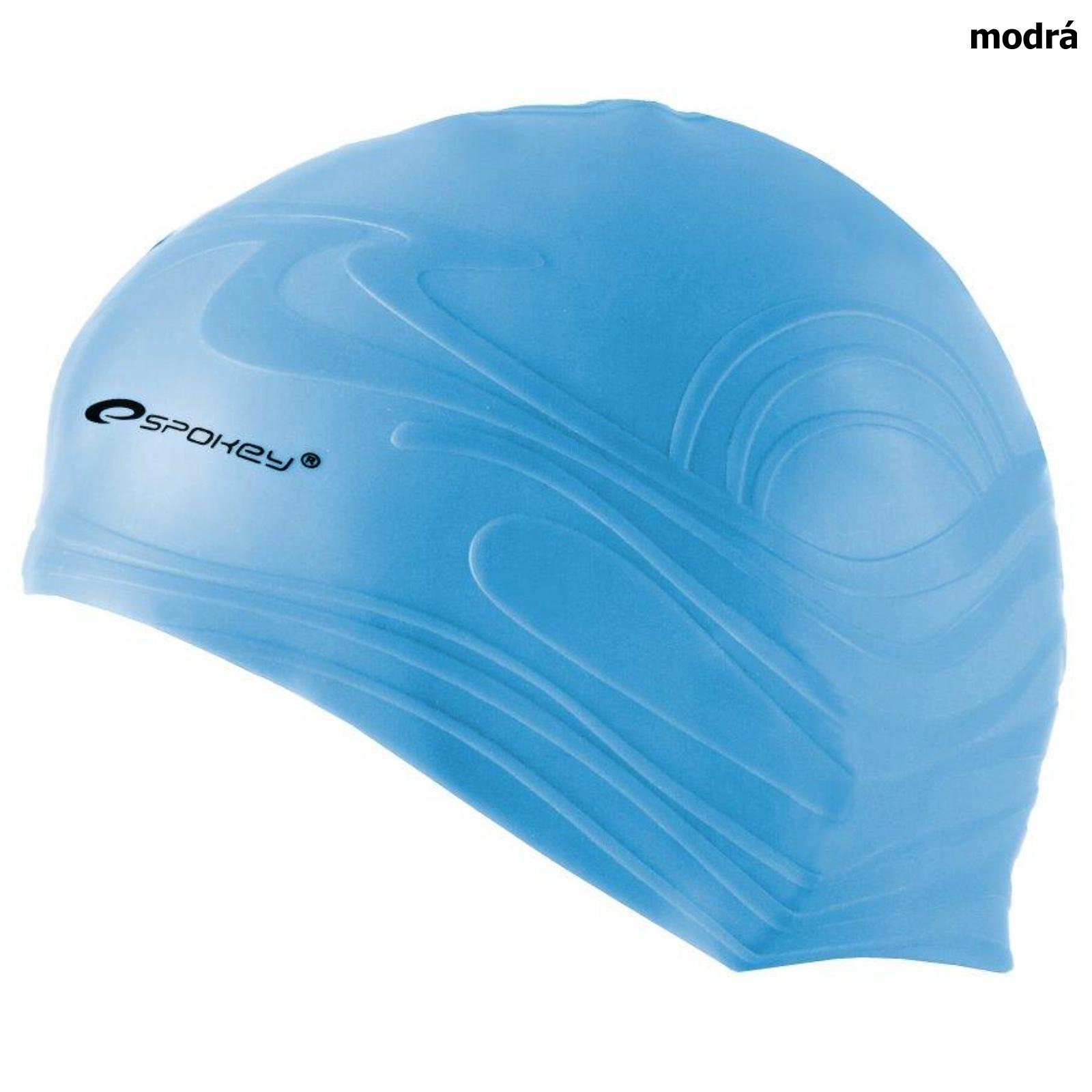 Plavecká čepice SPOKEY Shoal - modrá