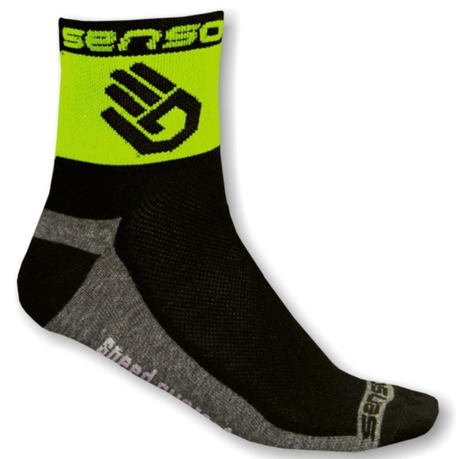 Levně Ponožky SENSOR Race Lite Ruka zelené - vel. 3-5