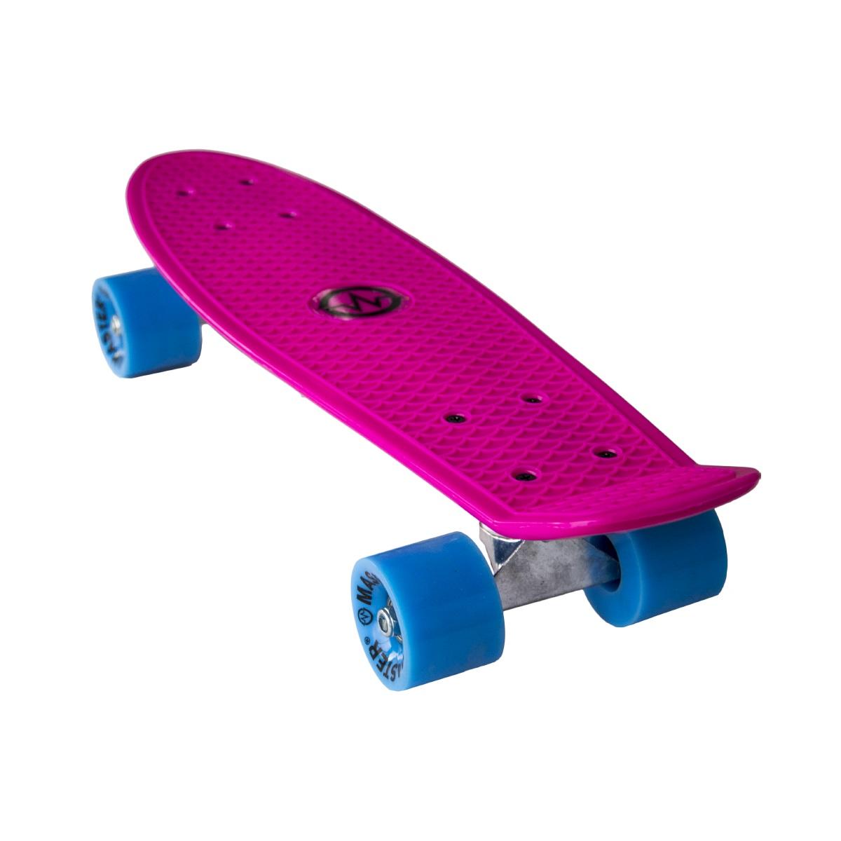 """Plastik Penny Board MASTER 22"""" - růžový"""