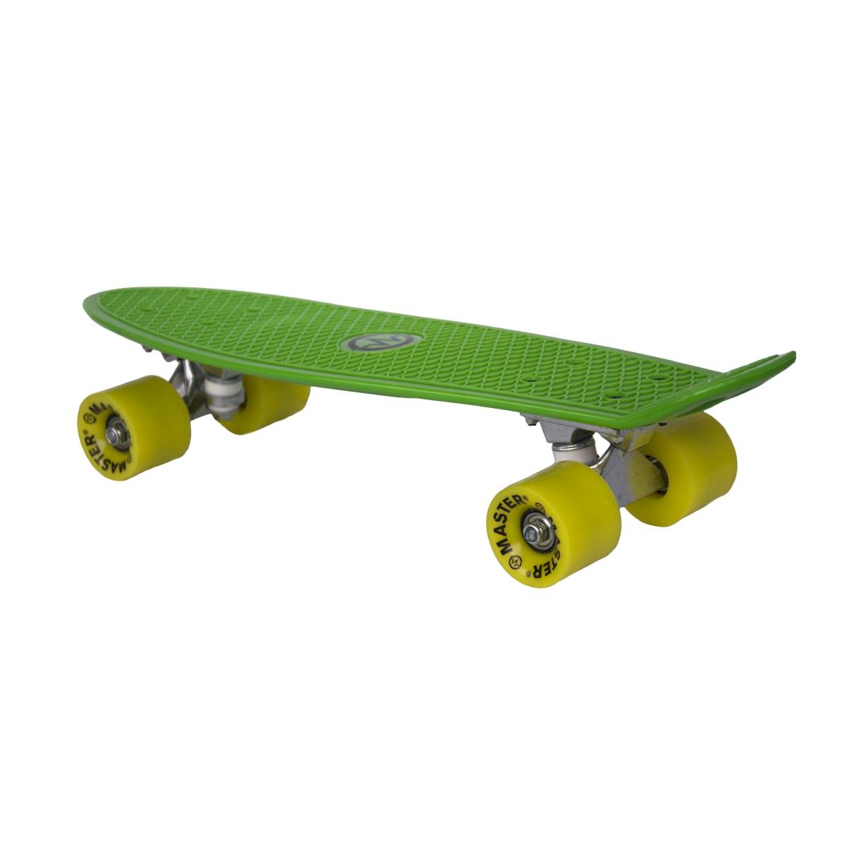 """Plastik Penny Board MASTER 22"""" - zelený"""