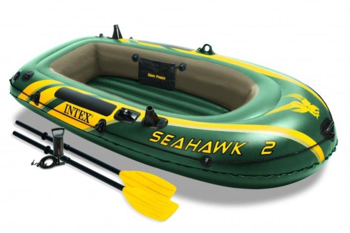Nafukovací člun INTEX Seahawk 2 Set - 2.jakost