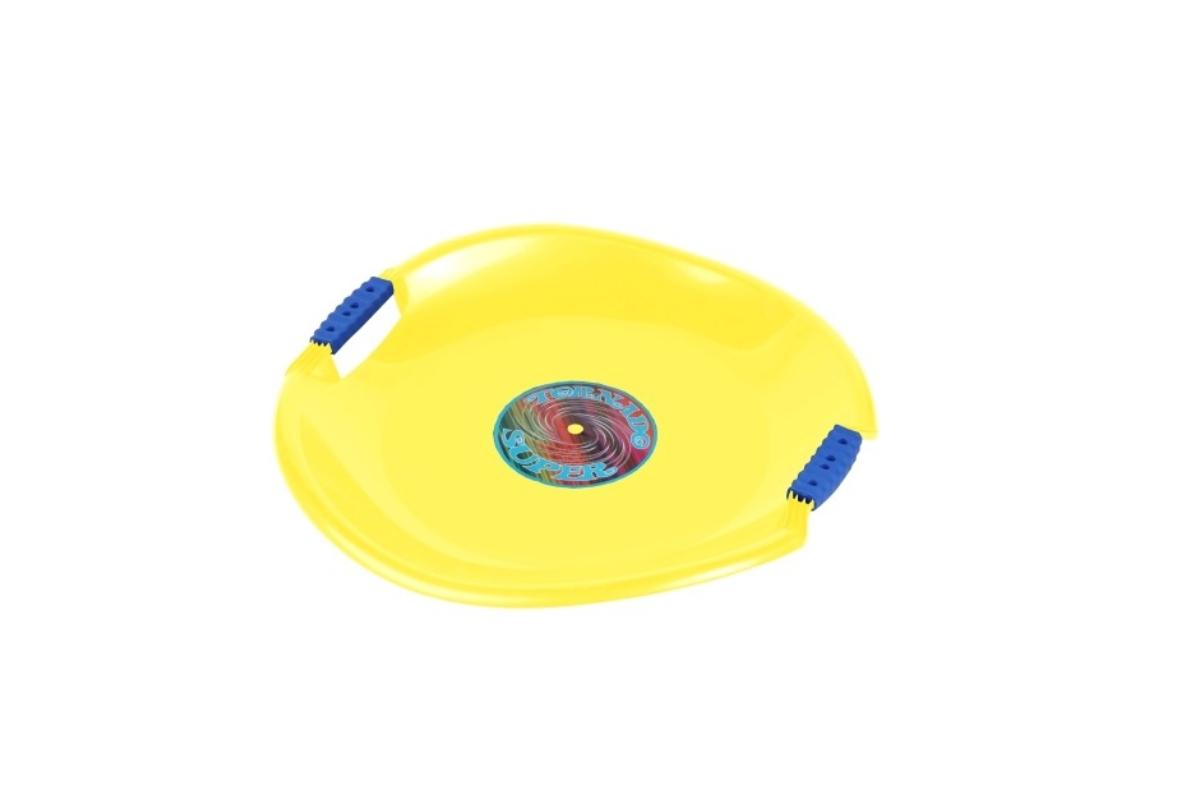 Sáňkovací talíř Tornado Super - žlutý