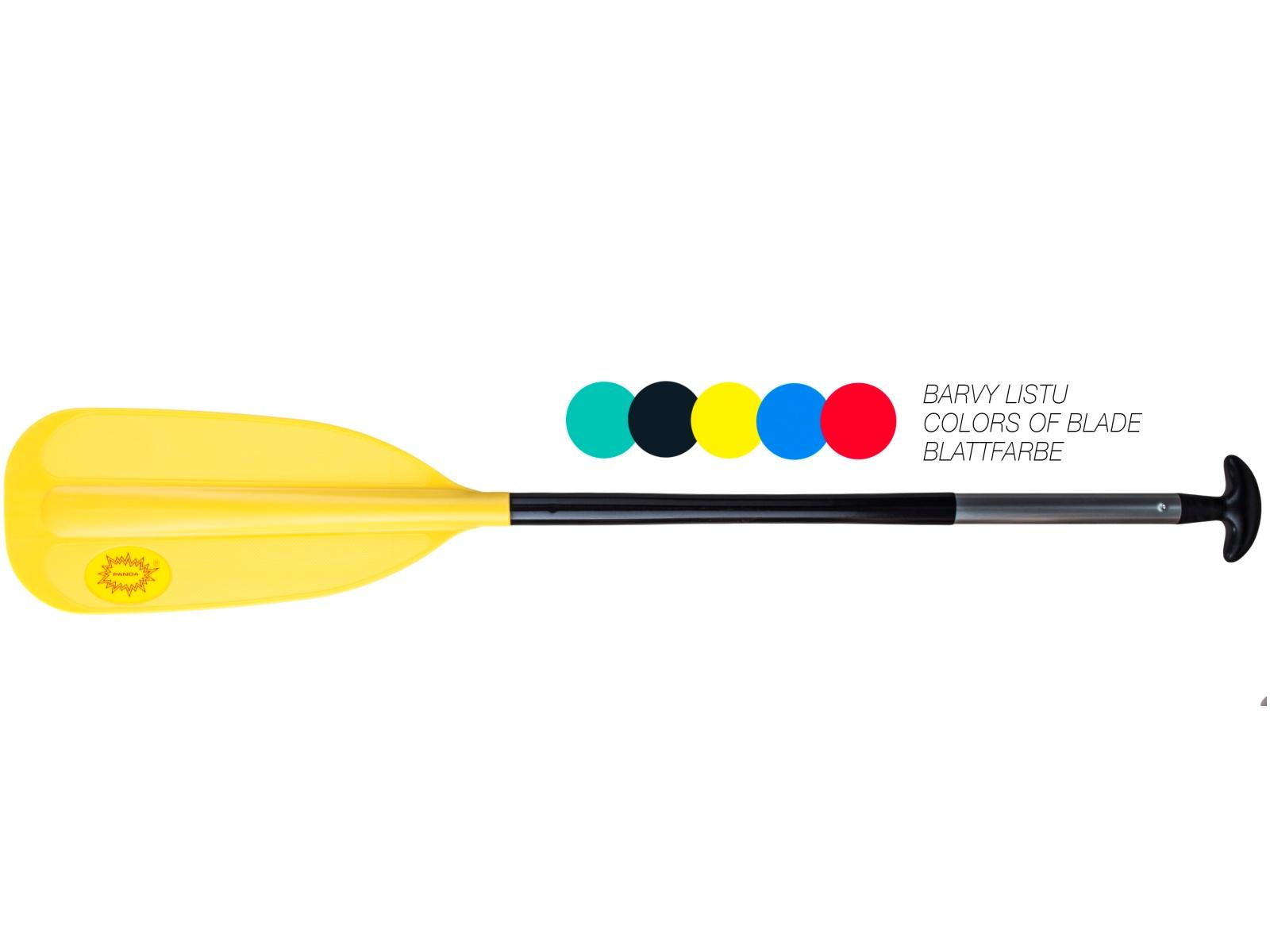Pádlo PANDA dětské žluté - vel. 110 cm
