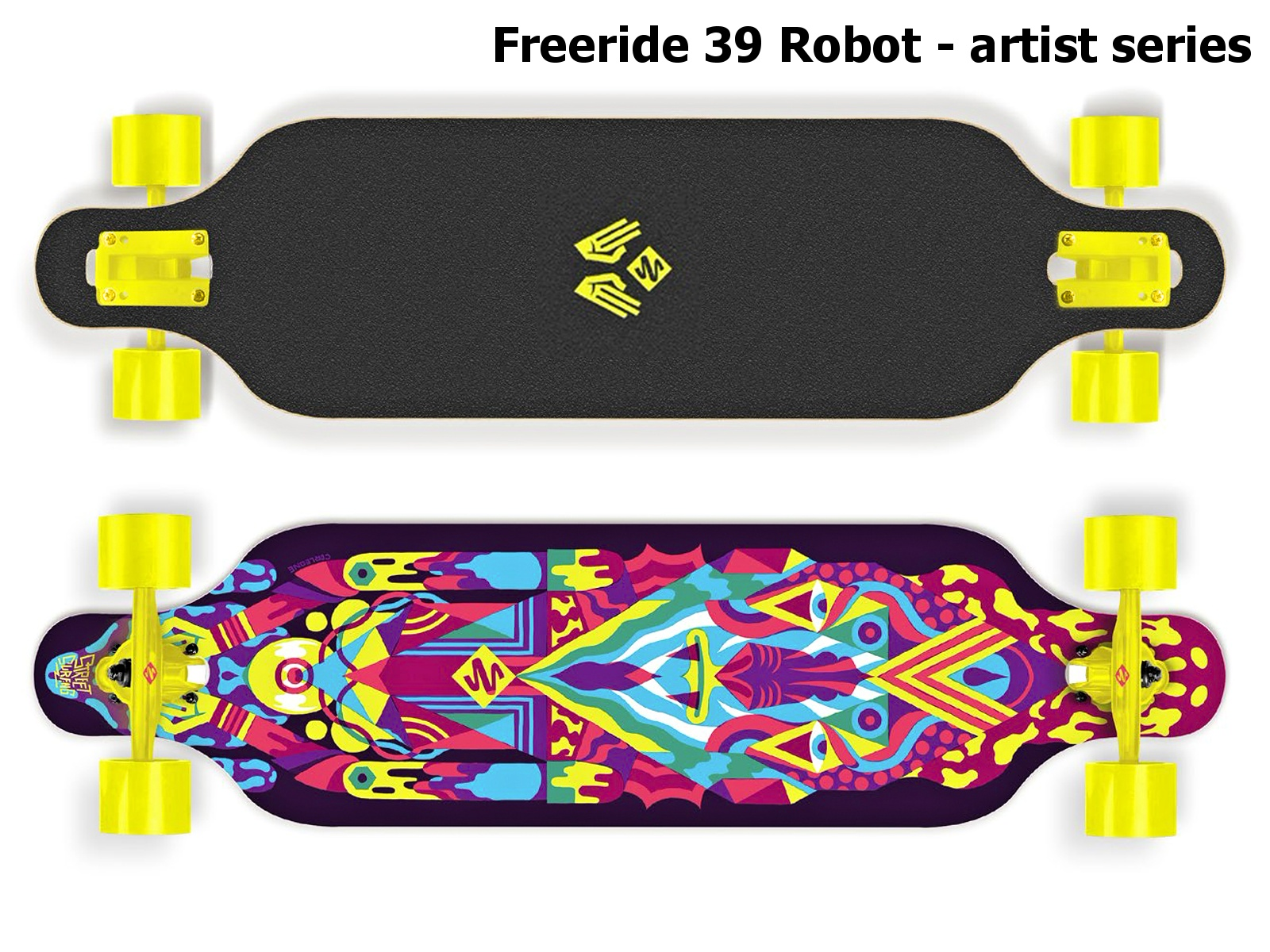 Longboard STREET SURFING Freeride 39 Robot