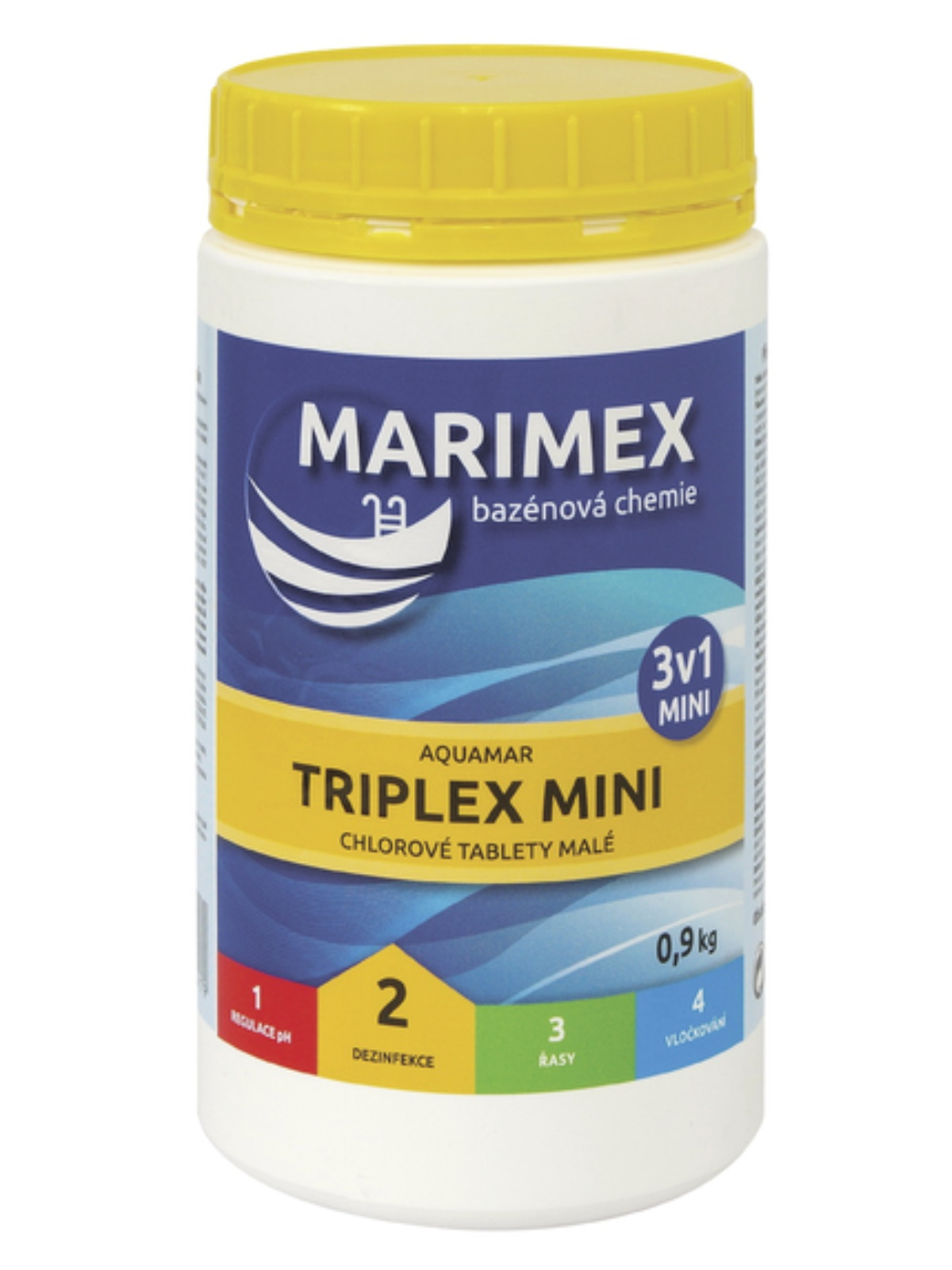 MARIMEX AquaMar Chlor Triplex Mini 900g
