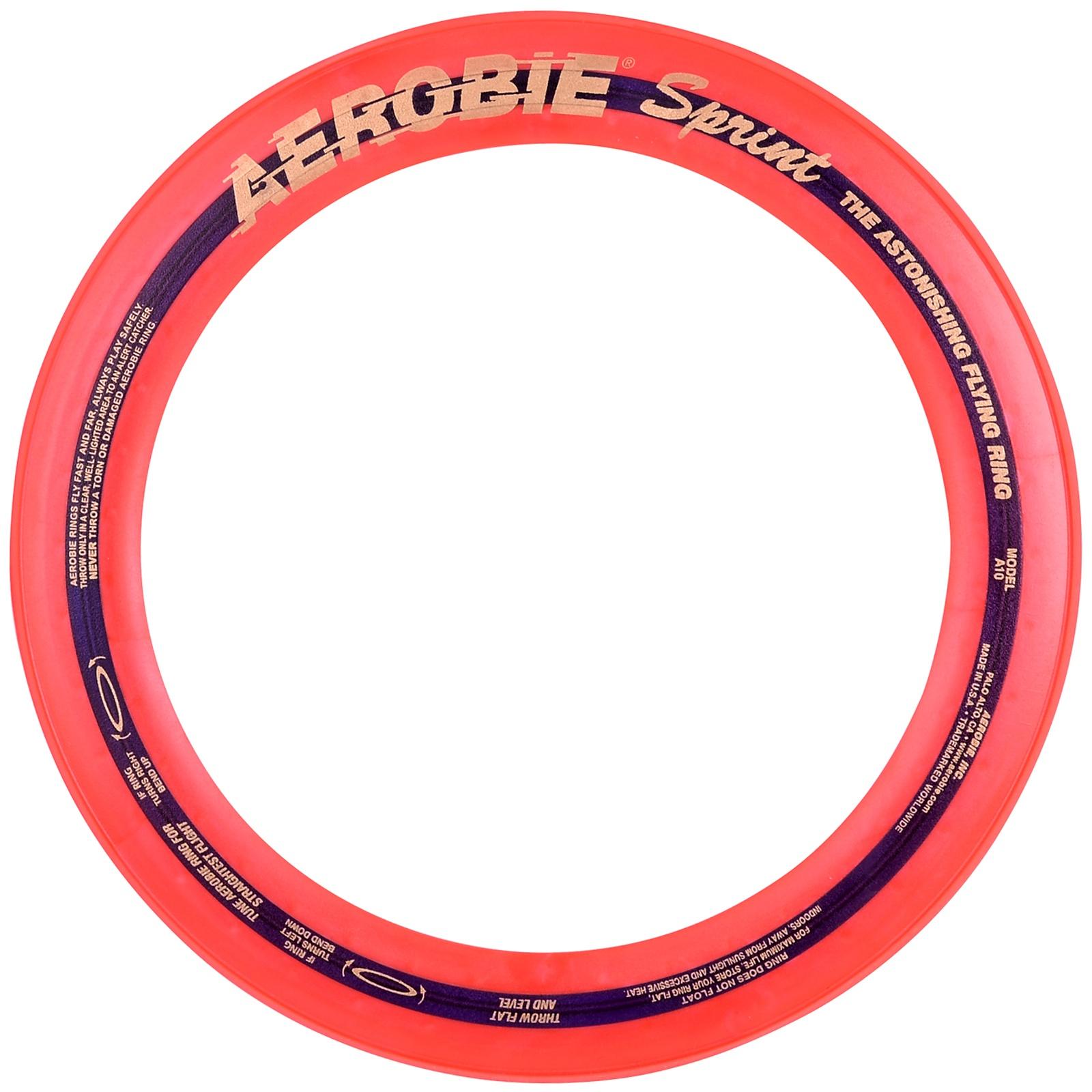 Létající kruh AEROBIE Sprint oranžový
