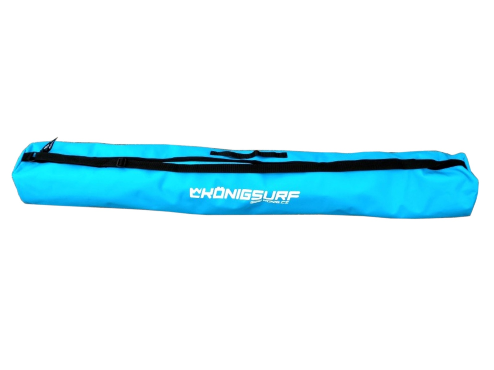 Obal na dětské lyže KÖNIG Tubus Junior modrý - vel. 120 cm
