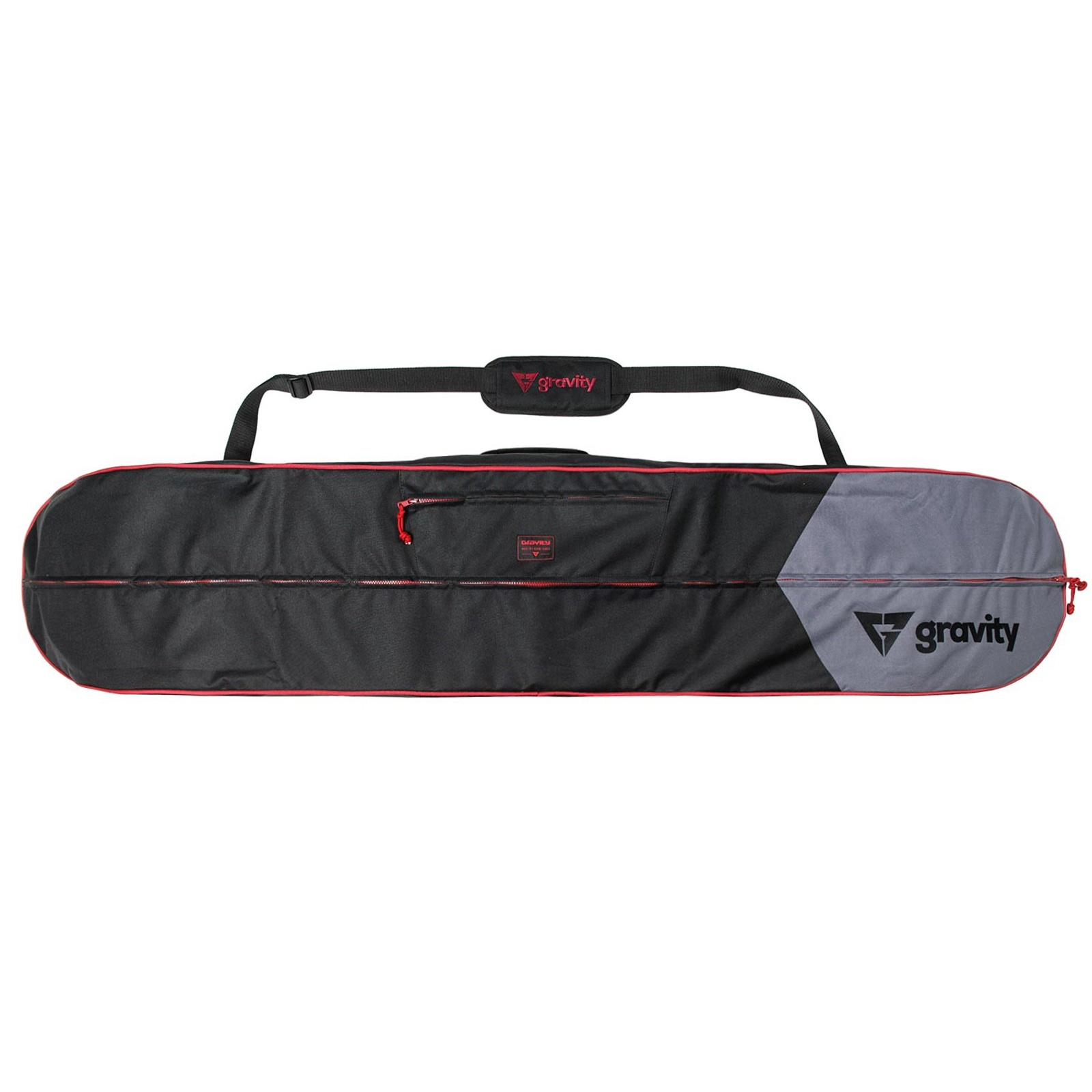Obal na snowboard GRAVITY Icon černo-červený - vel. 175 cm