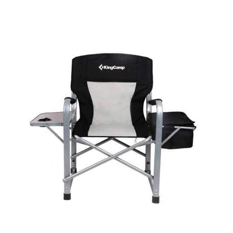 Kempingová skládací židle KING CAMP s opěrkami Director Deluxe