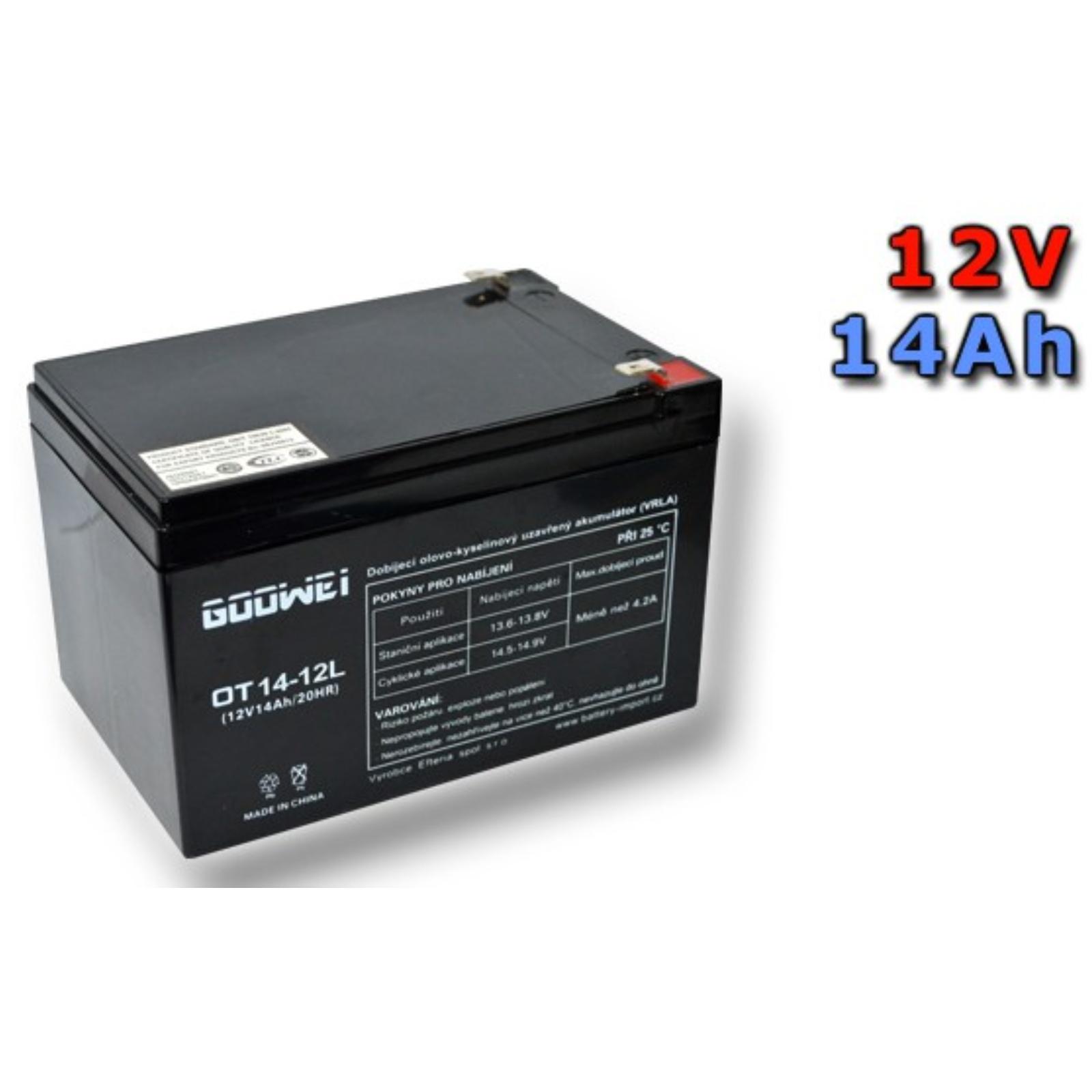 Baterie Goowei OTL14-12 14Ah 12V