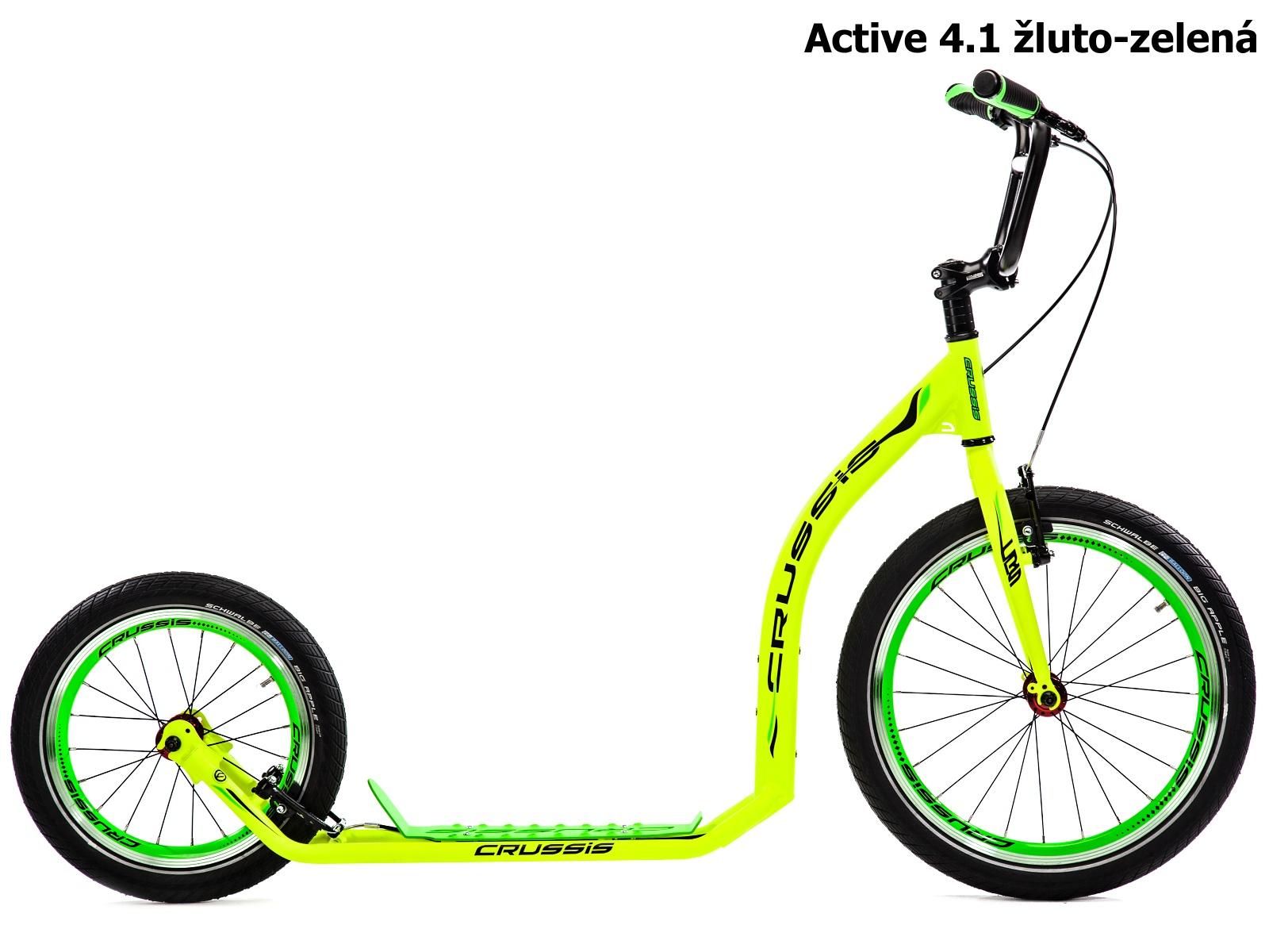 Crussis ACTIVE 4.1 žluto-zelená