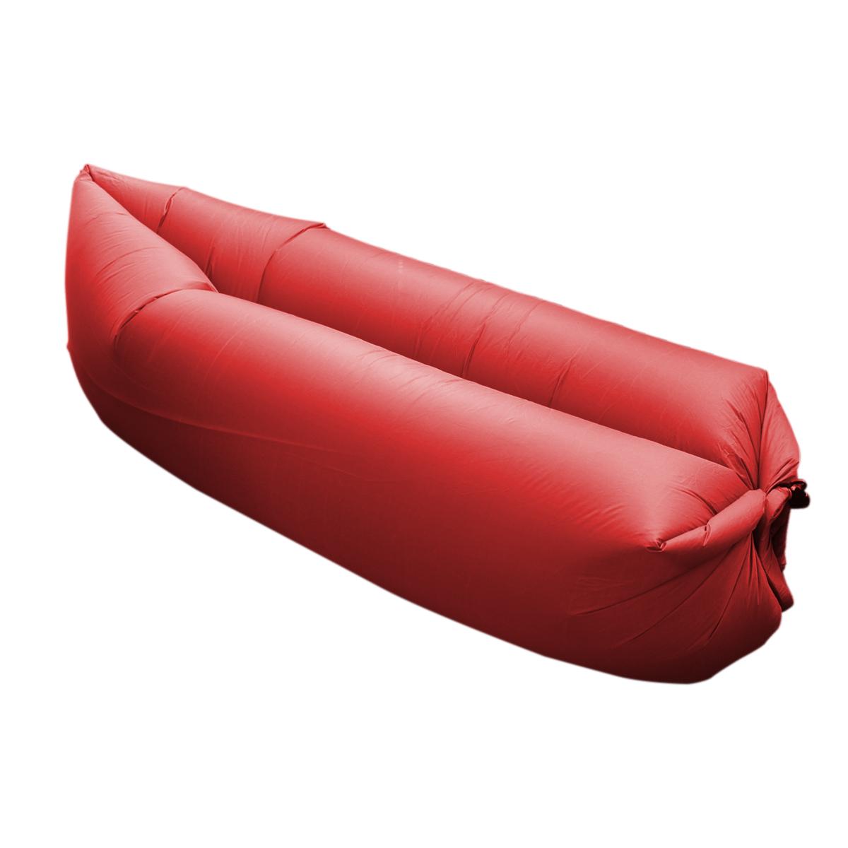 Nafukovací vak MASTER Lazy Air - červený