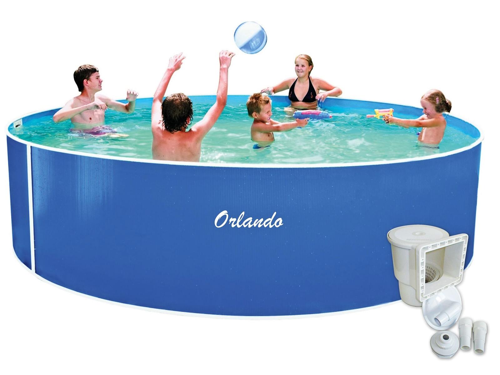 Bazén MARIMEX Orlando 457 x 107 cm + skimmer Olympic - 2.jakost