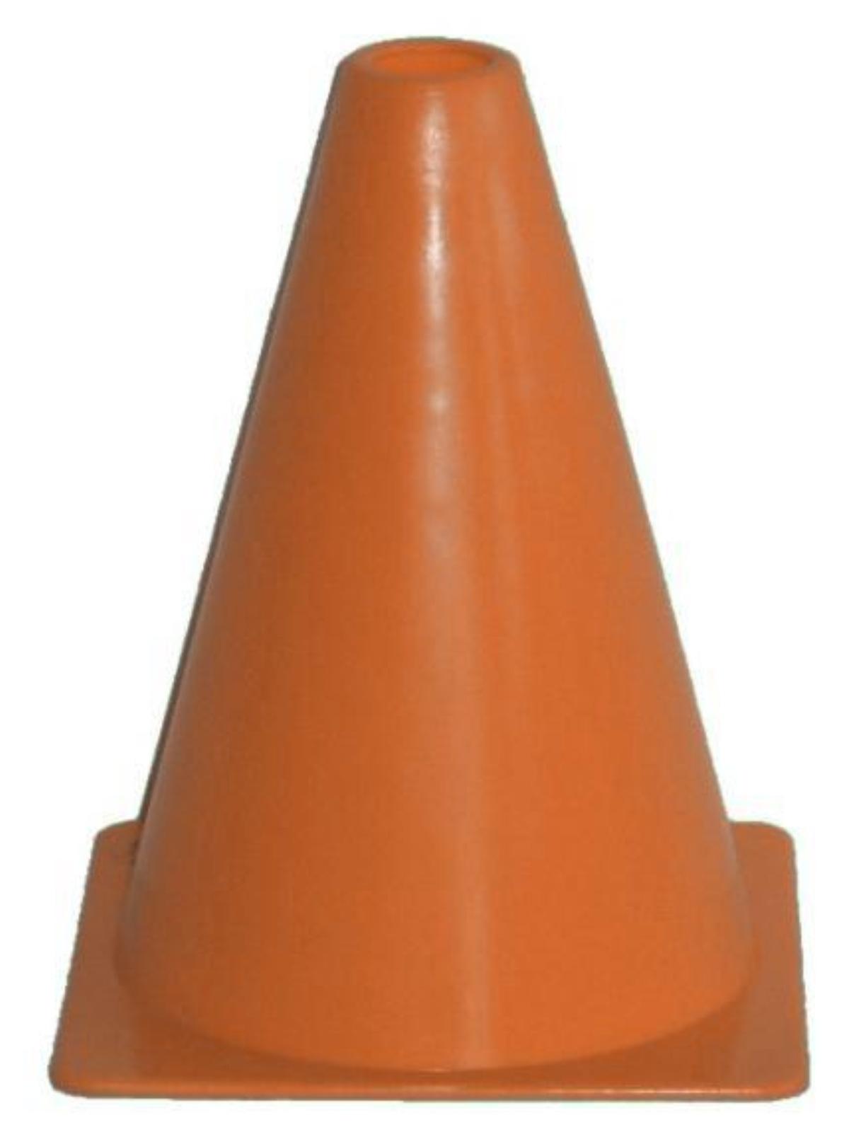 Fotbalový kužel - vel. 18 cm - oranžový