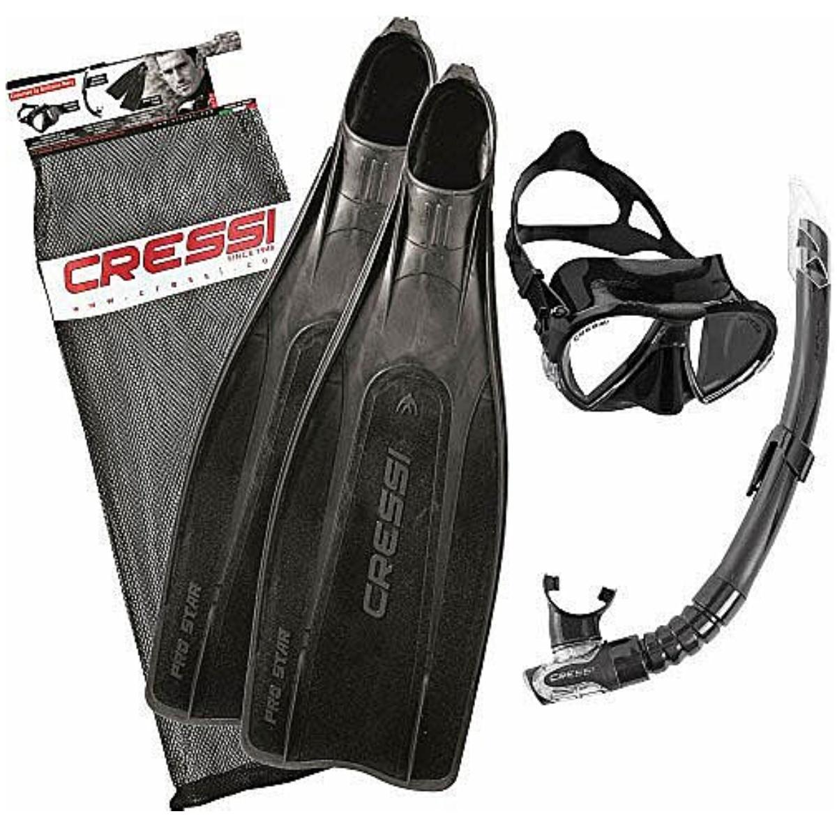 Potápěčský set CRESSI Set Pro Star Bag - vel. 43-44