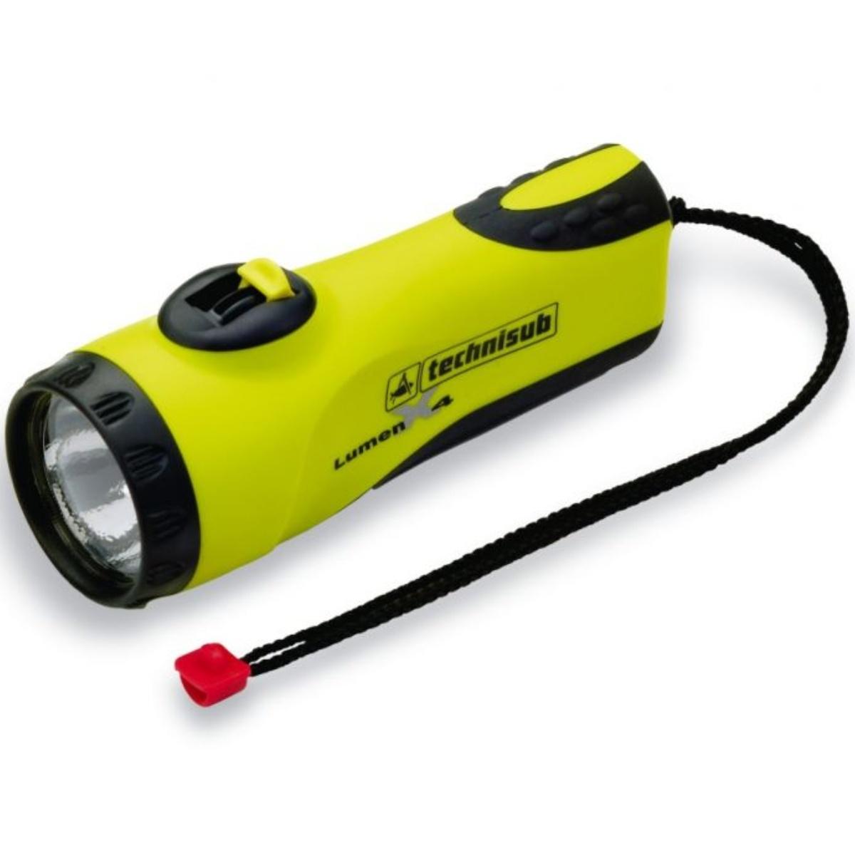 Svítilna TECHNISUB Lumen X4 - žlutá