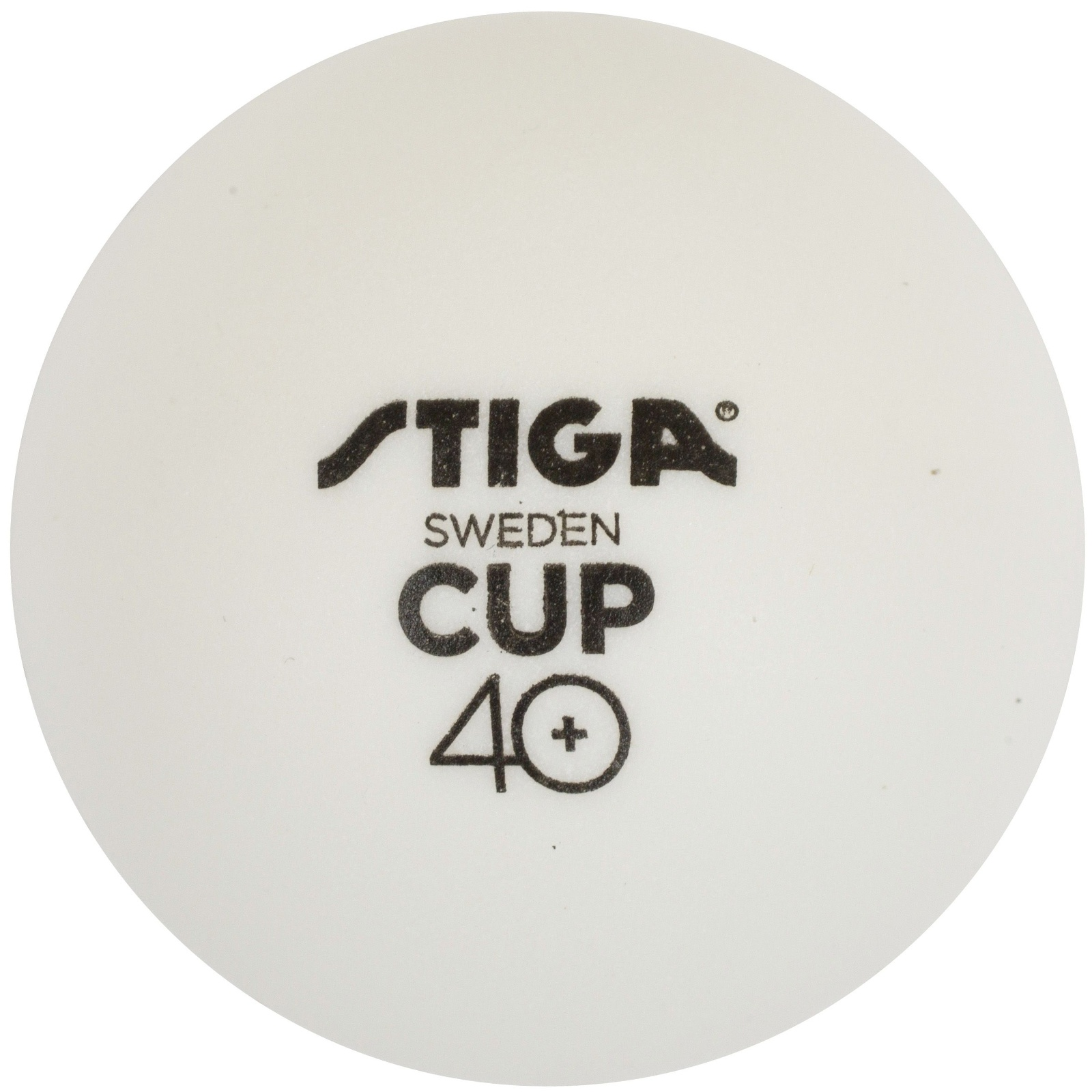 Míčky na stolní tenis STIGA CUP ABS - bílé 6ks