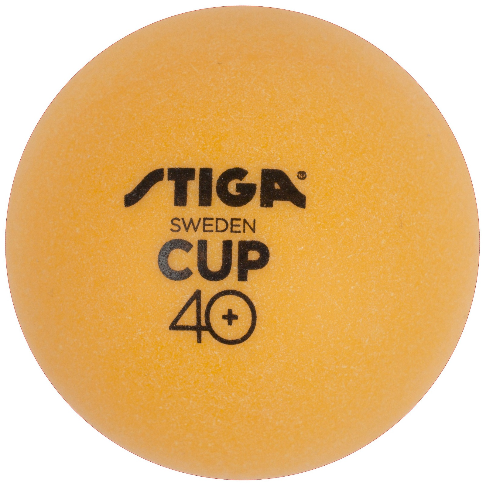 Míčky na stolní tenis STIGA CUP ABS - oranžové 6ks