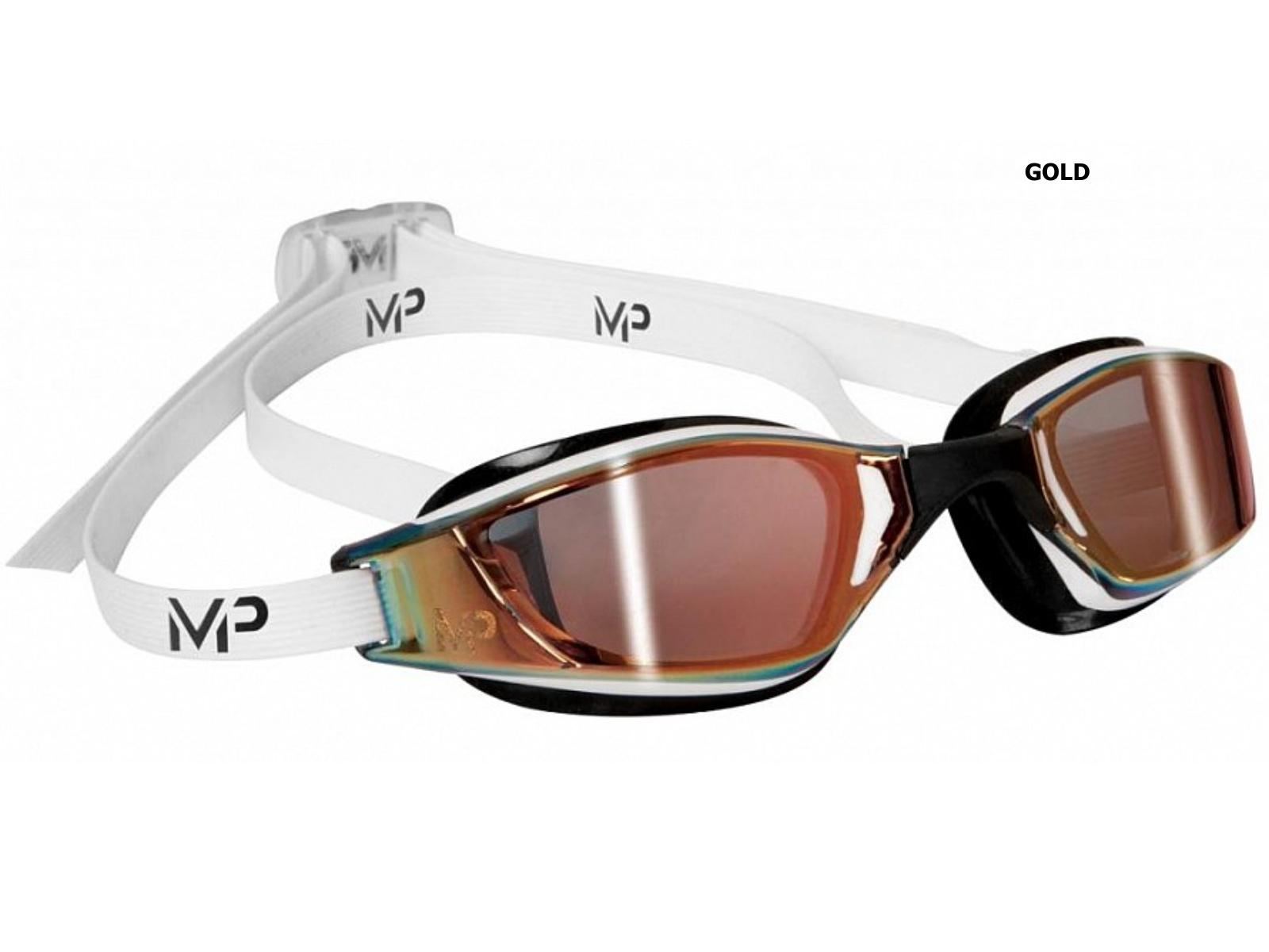Plavecké brýle Michael Phelps Xceed - titanový zorník