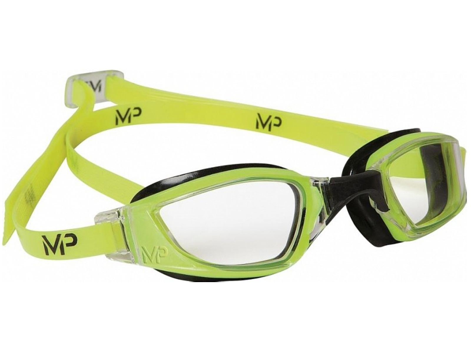 Plavecké brýle Michael Phelps Xceed čirý zorník - zelené