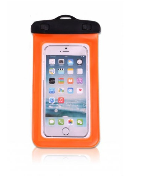 Vodotěsný obal na mobil ELEMENTS GEAR - oranžový