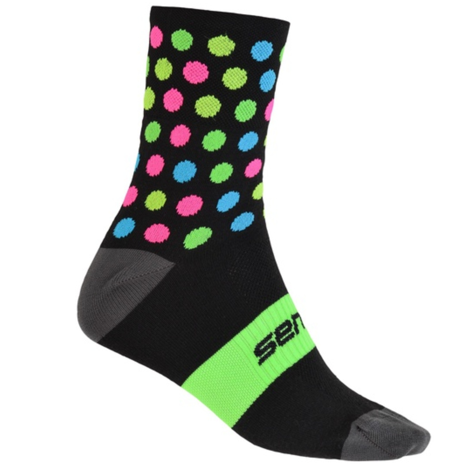 Sensor ponožky DOTS černá-multi
