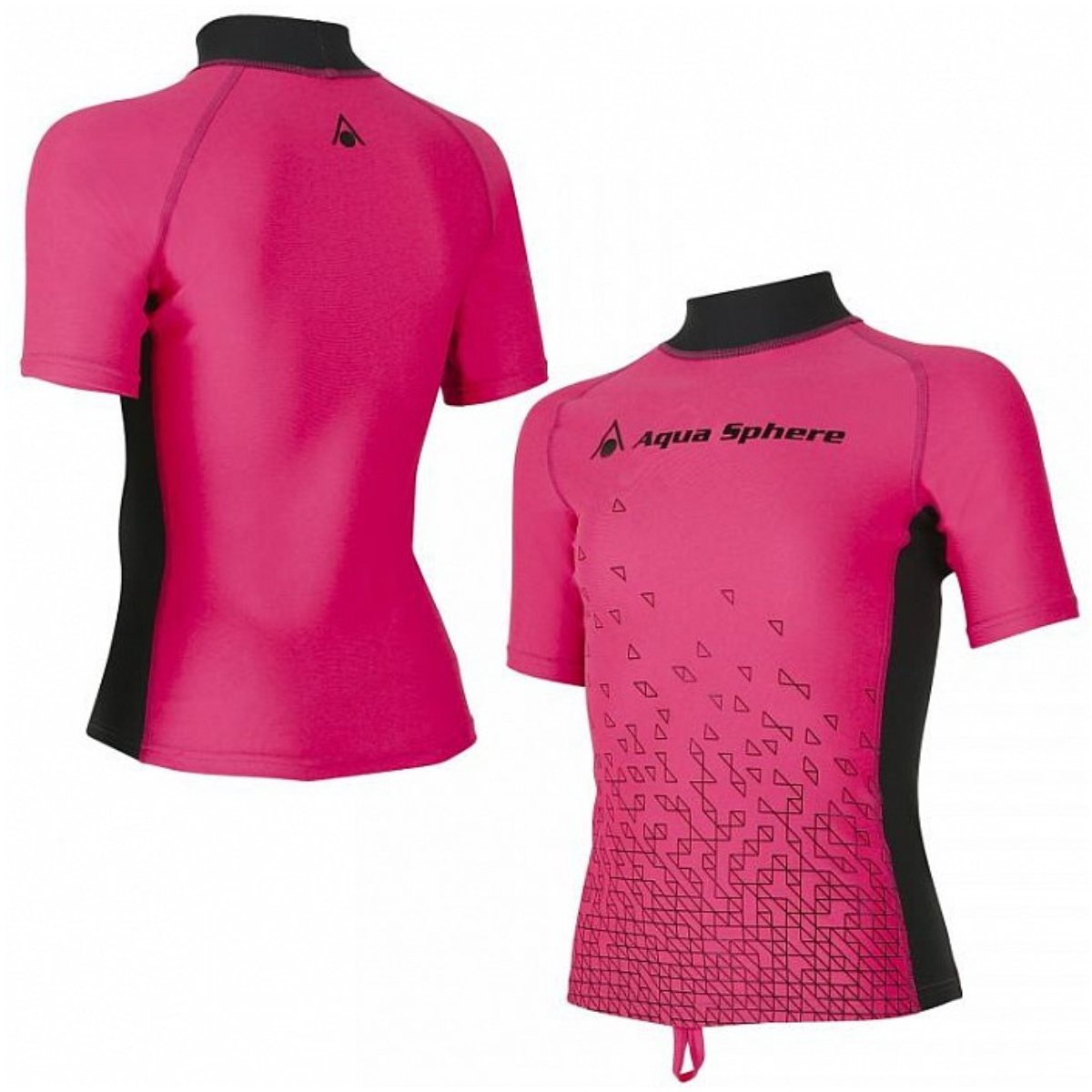Lycrové triko AQUA SPHERE Bix dívčí růžové - vel. 116