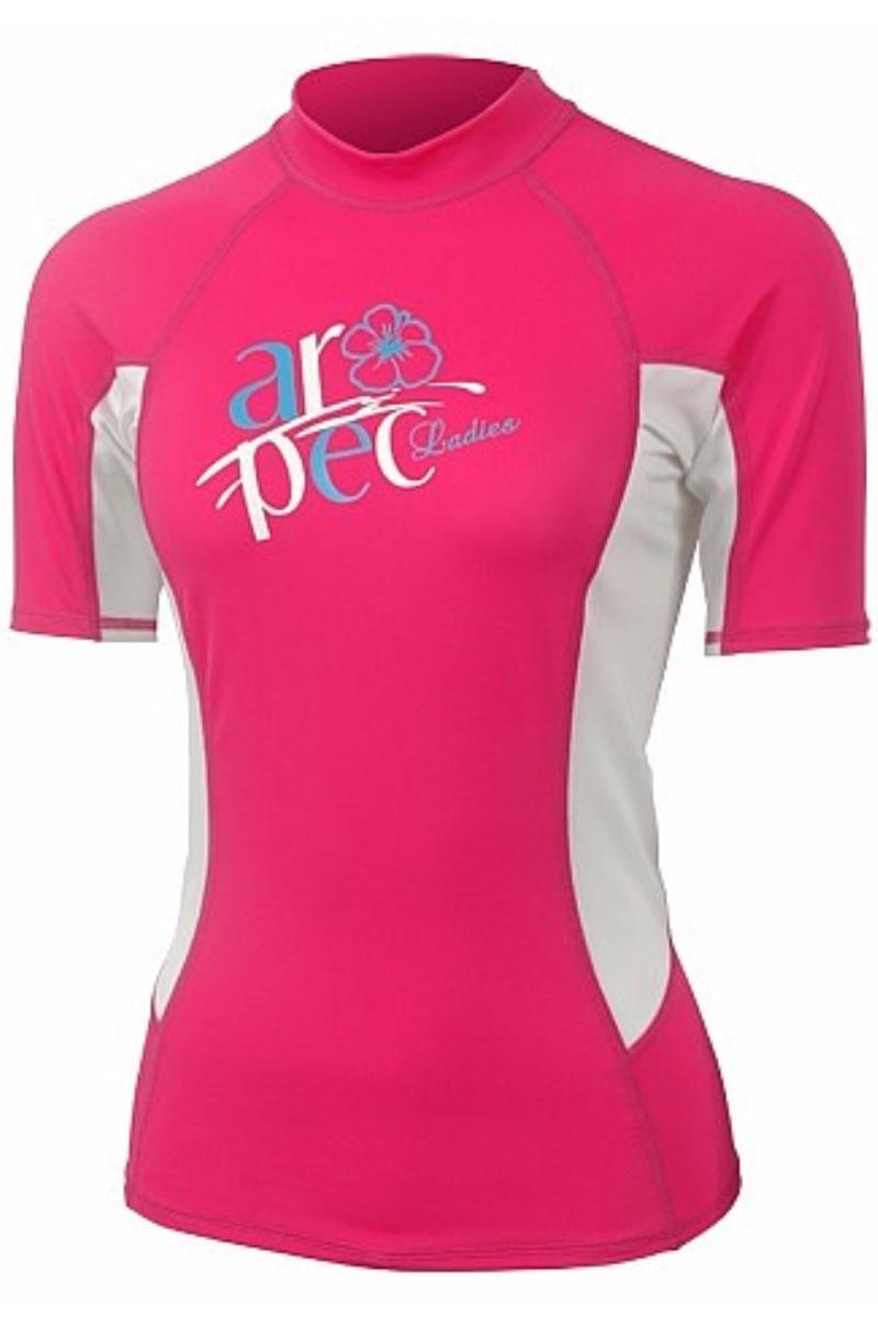 Lycrové triko AROPEC Myth dámské růžové - vel. M