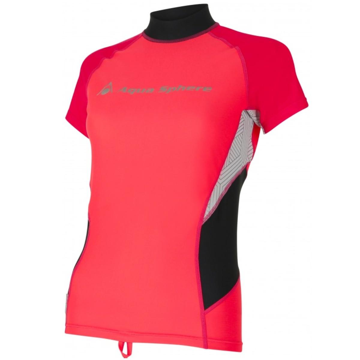 Lycrové triko AQUA SPHERE Amy dámské růžové - vel. XS
