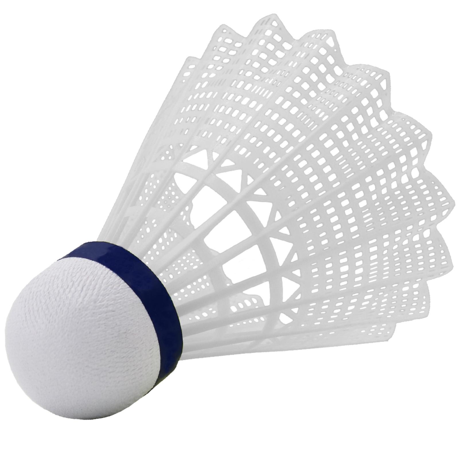 Badmintonové míčky WISH Air Flow 5000 - bílé 6ks