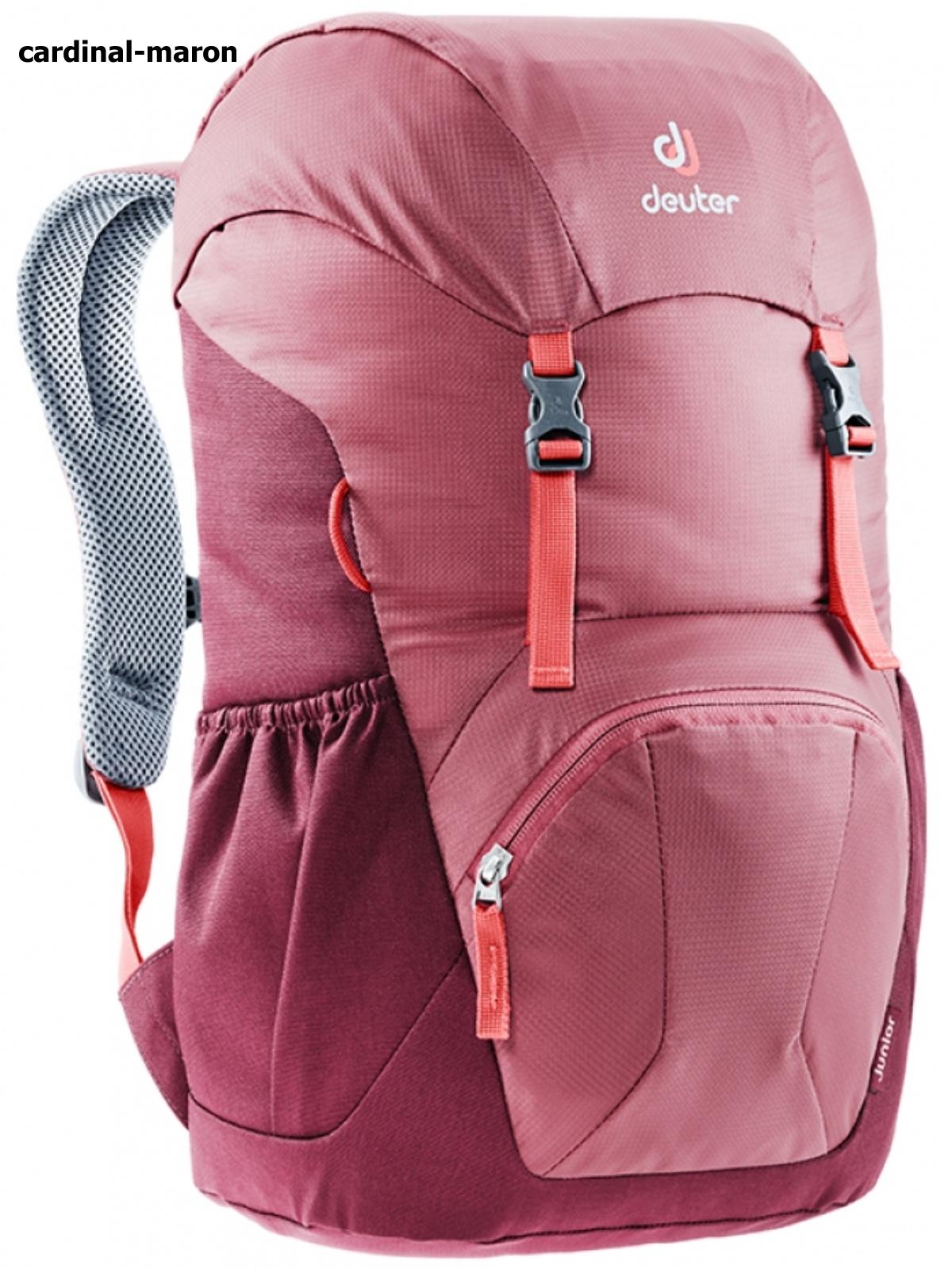 Dětský batoh DEUTER Junior 18 l - cardinal-maron