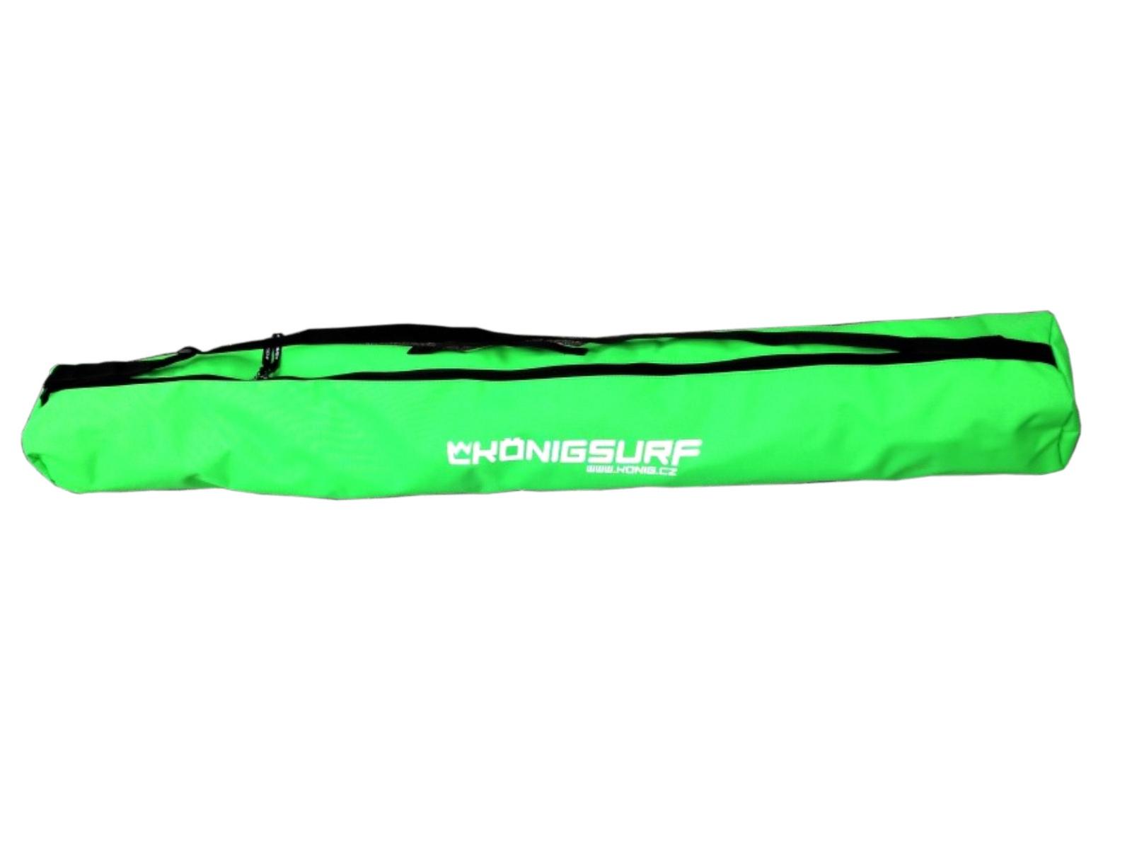 Obal na dětské lyže KÖNIG Tubus Junior zelený - vel. 90 cm